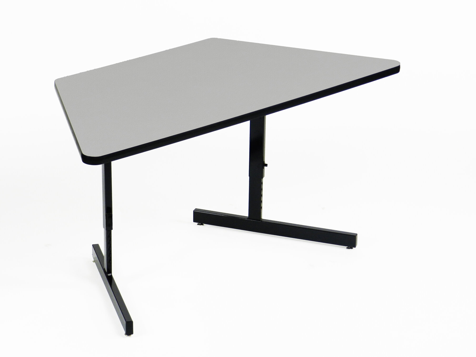 Correll inc 60 w training table with leg glides ebay - Table glides for legs ...