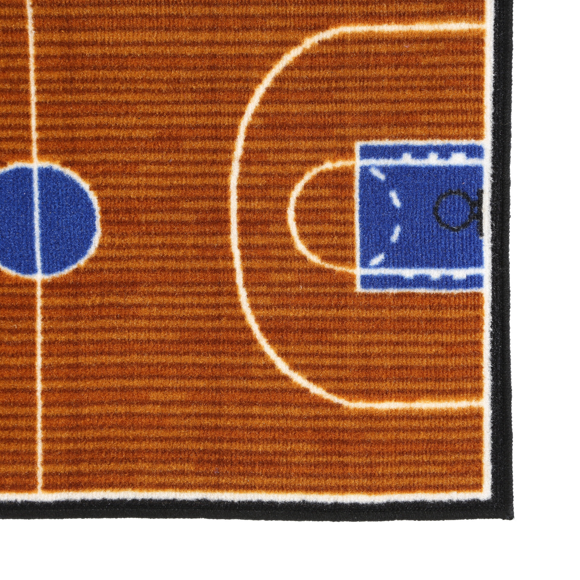 Fun Rugs Fun Time Basketball Court Sports Area Rug