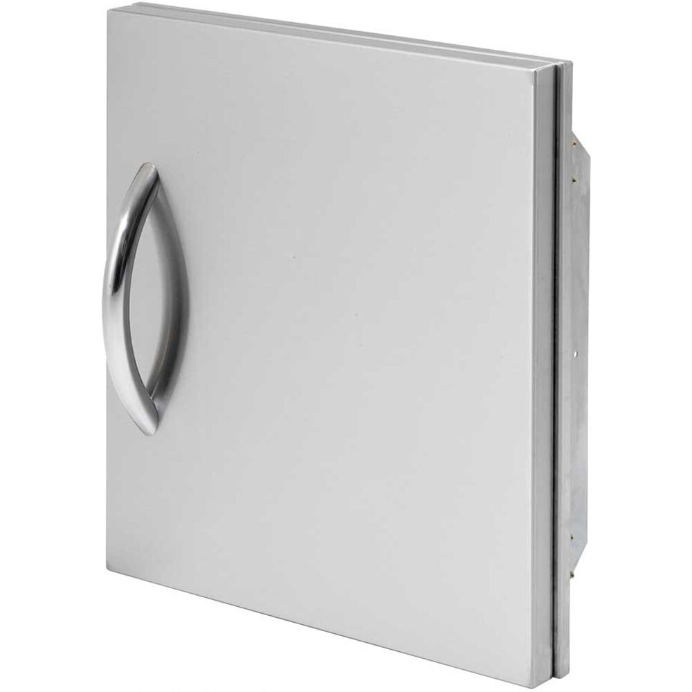 Stainless Access Doors : Calflame quot single stainless steel access door ebay