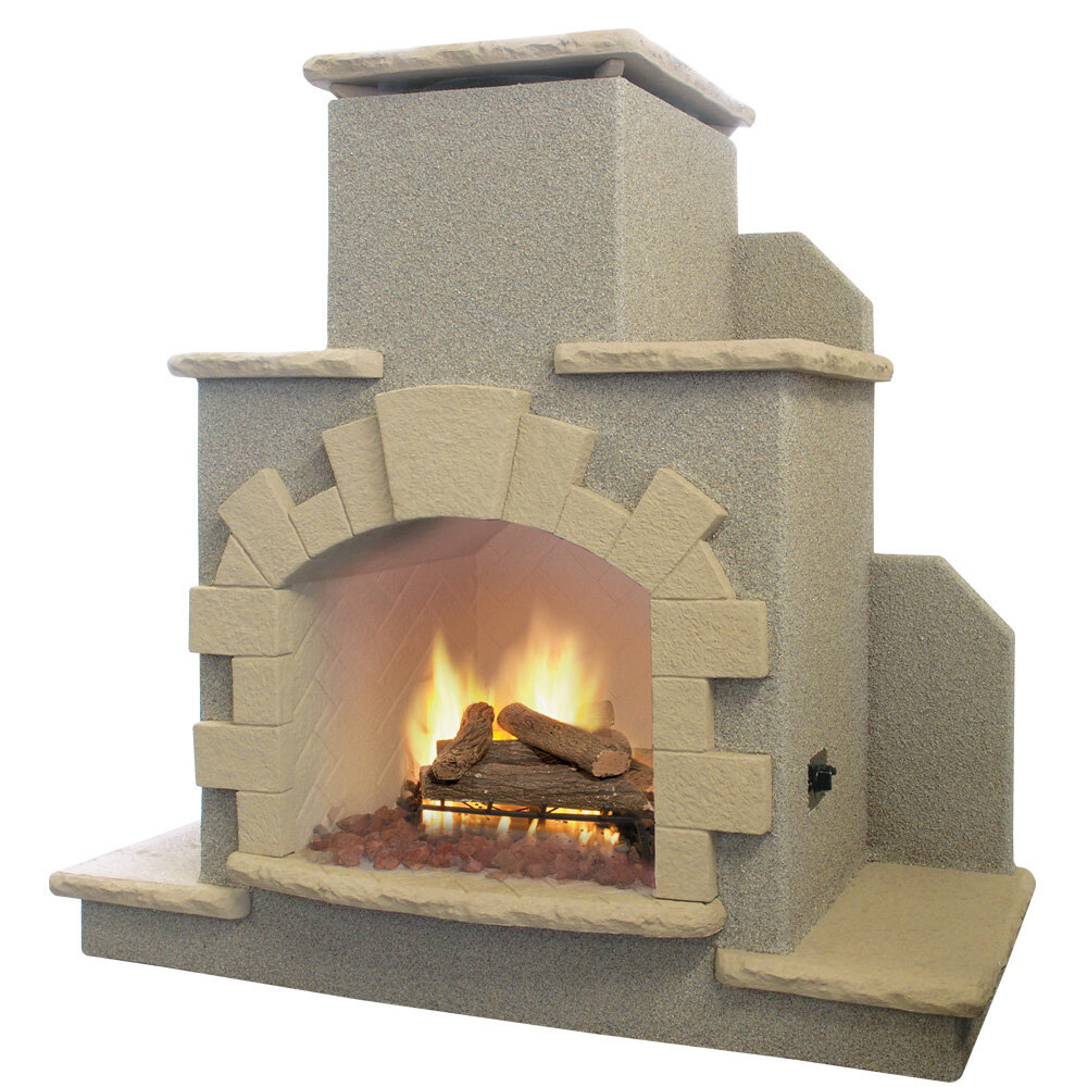 Condition Outdoor Propane Gas Fireplace