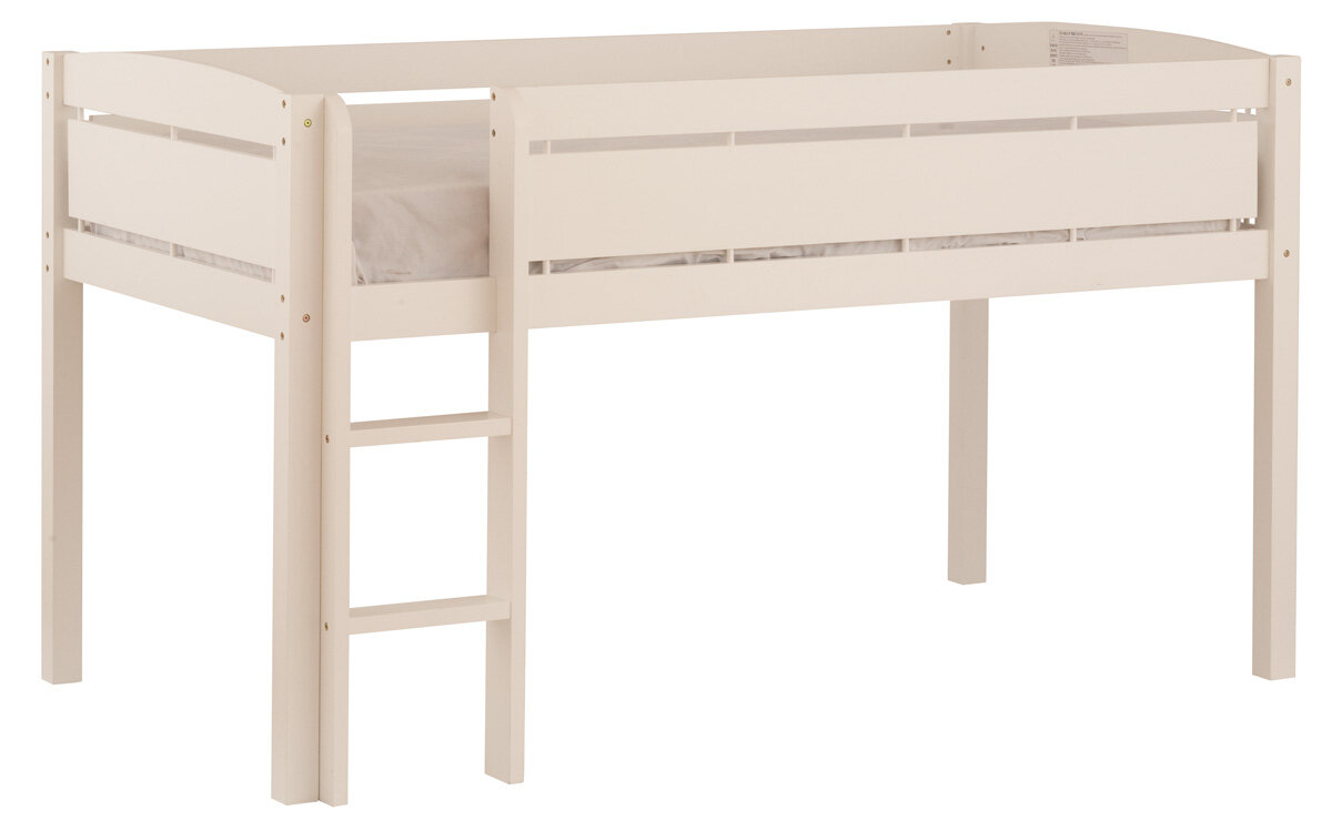 Canwood Furniture Whistler Junior Twin Loft Bed With Built In Ladder Ebay