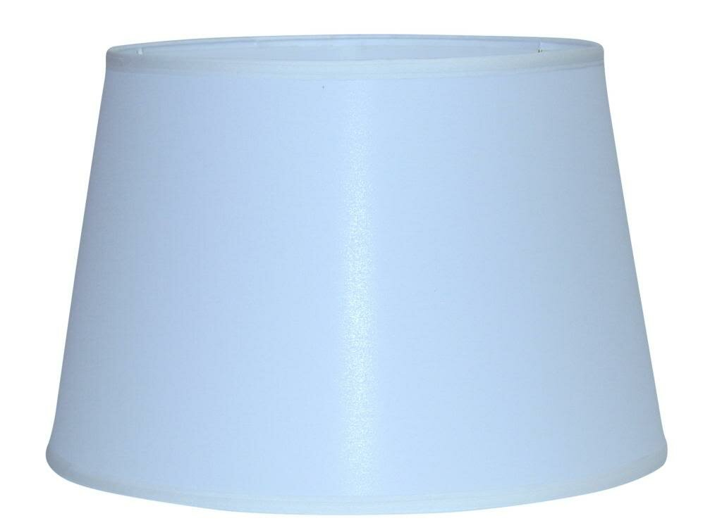 lamp factory 18 linen drum lamp shade ebay. Black Bedroom Furniture Sets. Home Design Ideas