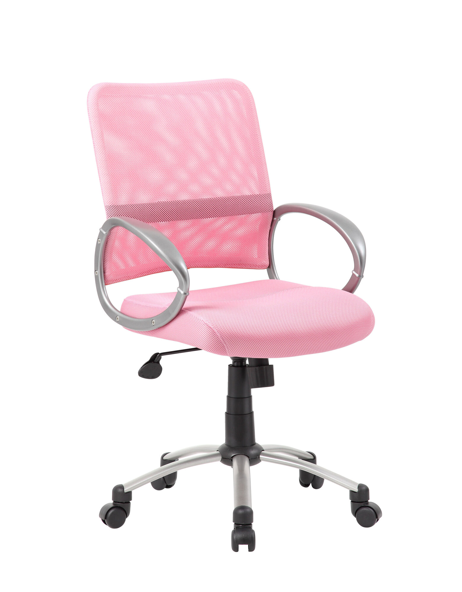 Boss Office Products Mesh Back Task Chair Pink Ebay