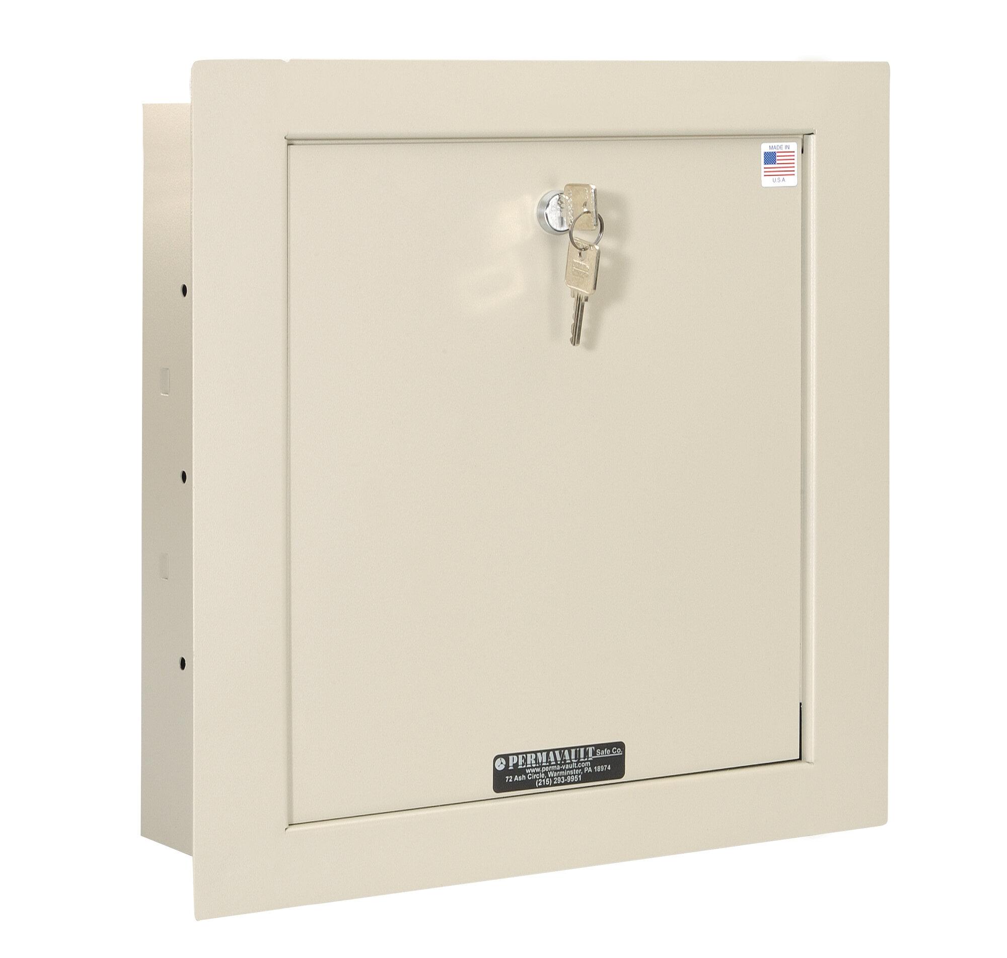 Perma Vault Wall Safe With Keyless Entry Ebay