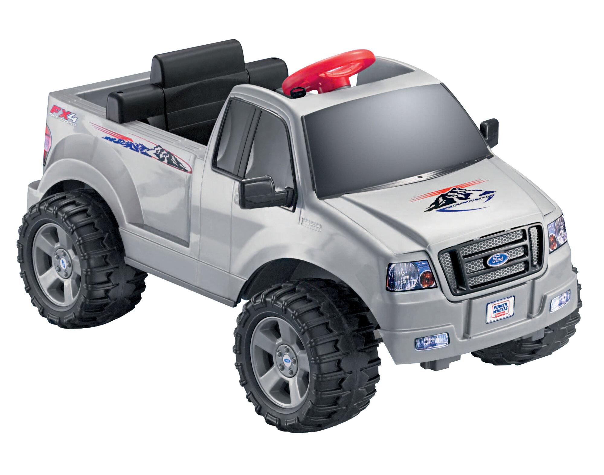 Fisher price power wheels ford f 150 6v battery powered for Fisher price motorized cars