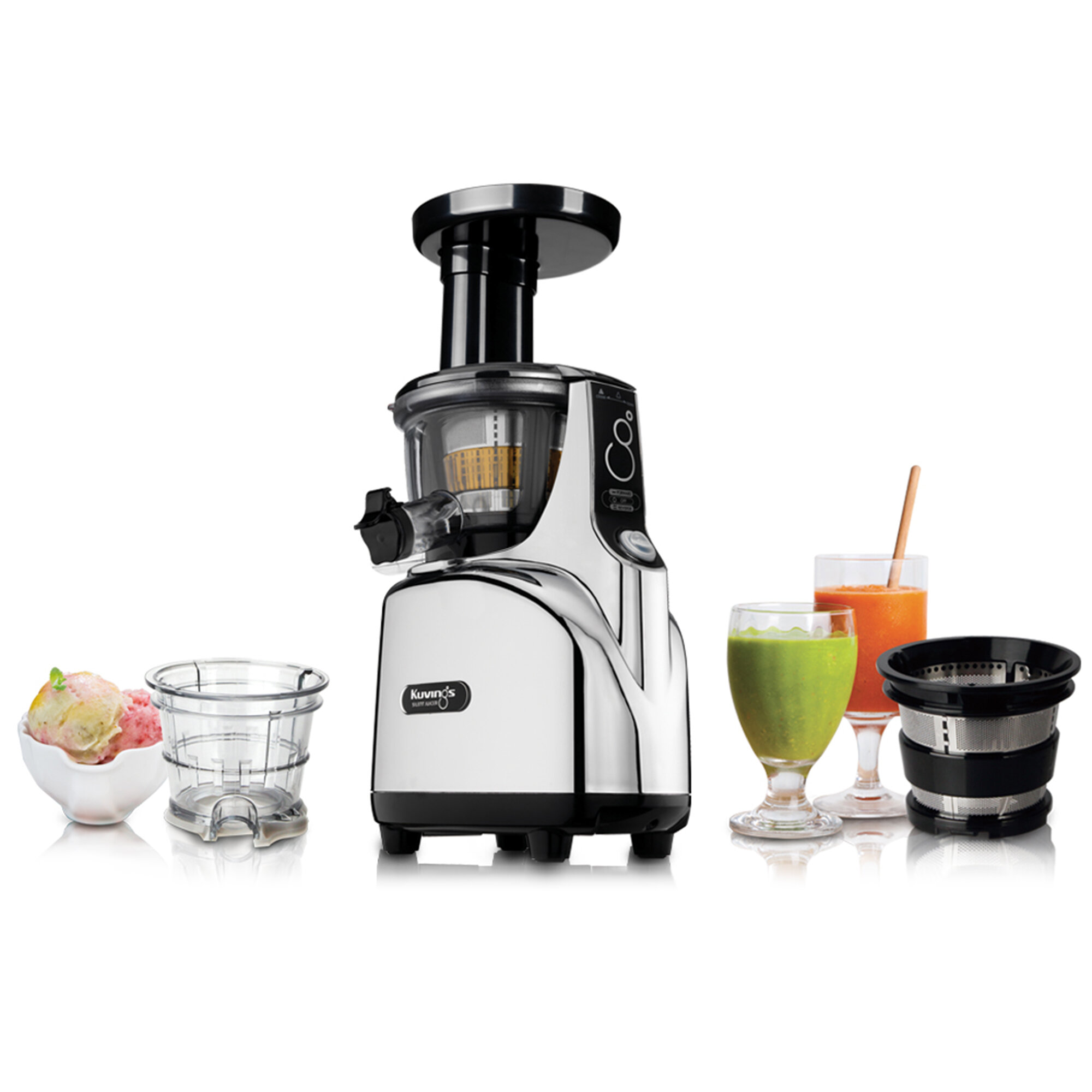 Kuvings Silent Cold Press Juicer Review : KUvINGS Silent Juicer eBay