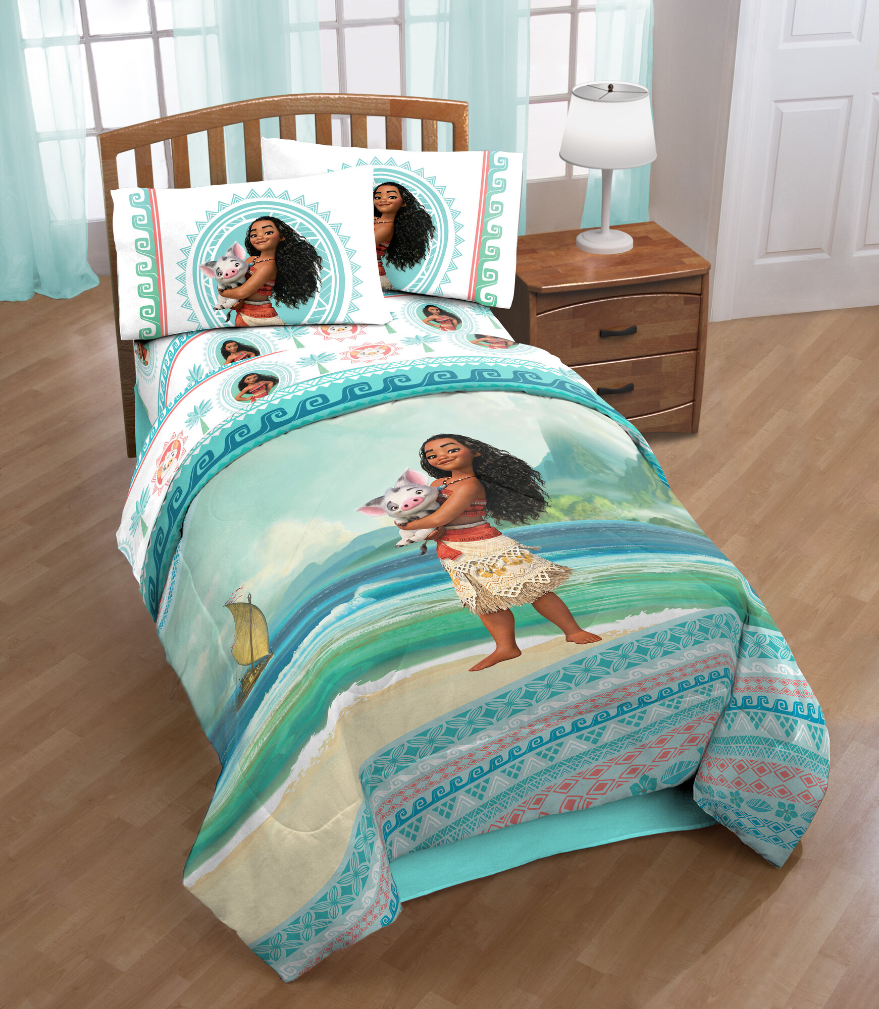 Disney Moana Quot The Wave Quot Twin Comforter