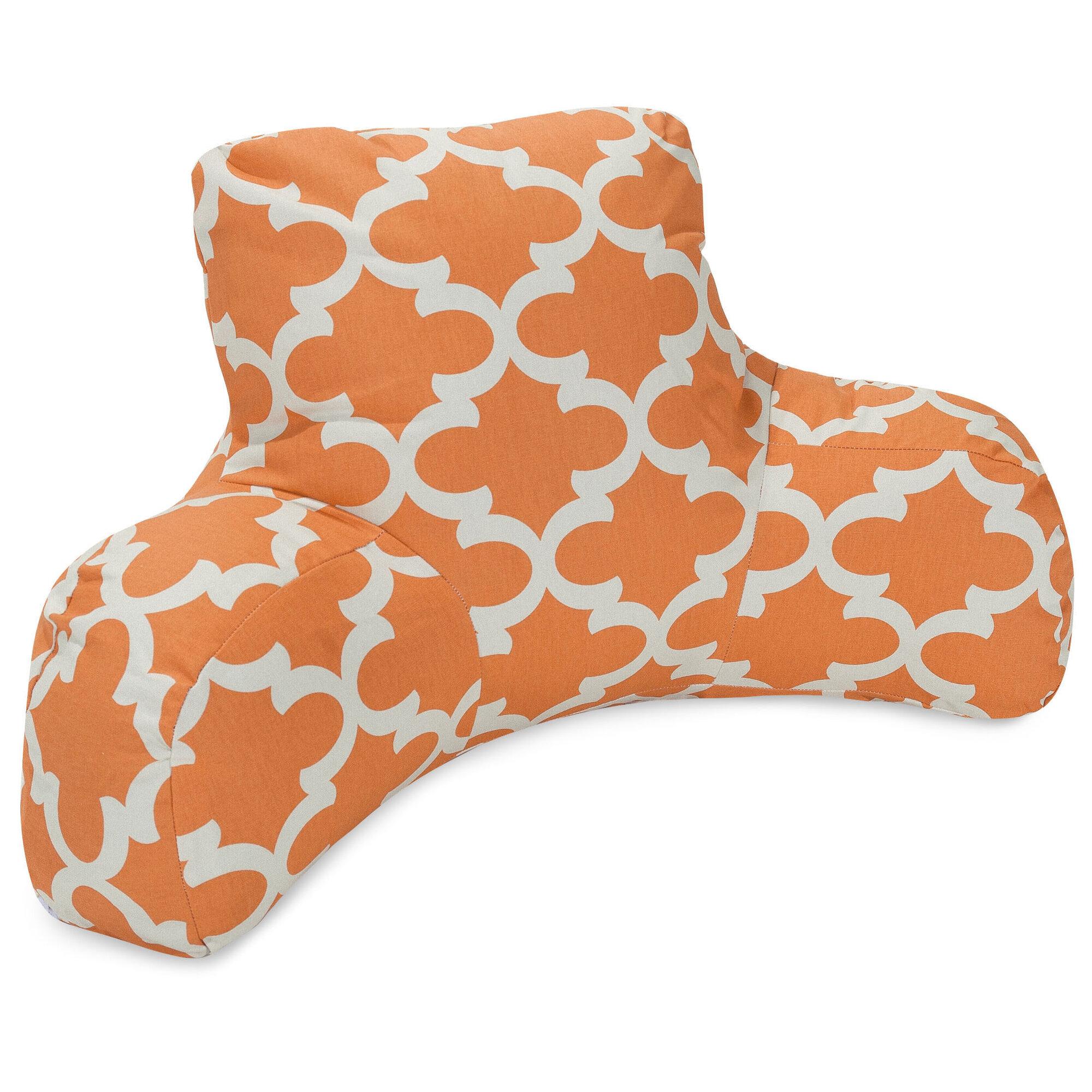 Majestic Home Goods Trellis Indoor/Outdoor Bed Rest Pillow