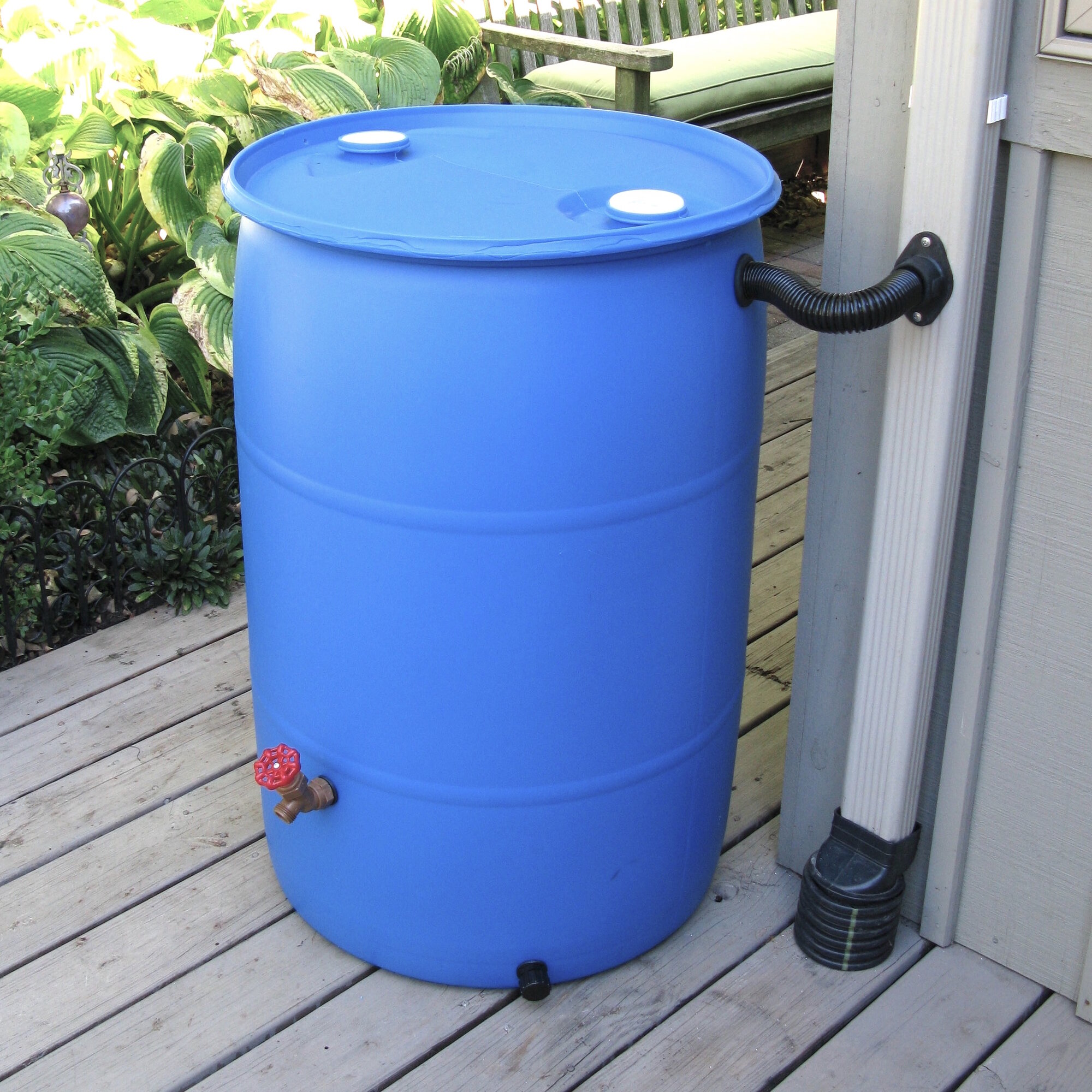 Earthmindedconsumerproducts Diy Rain Barrel Diverter And