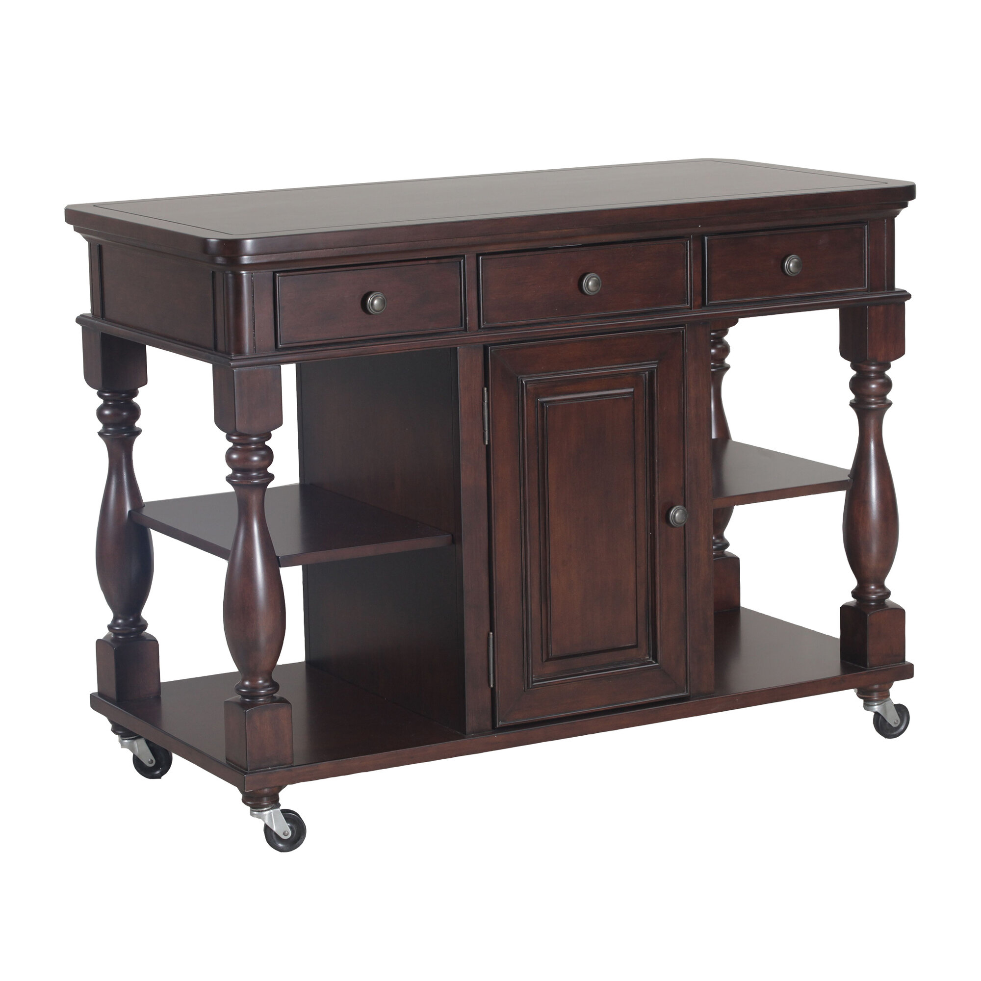 Kitchen Island Furniture Product: Powell Furniture Bourdain Kitchen Island
