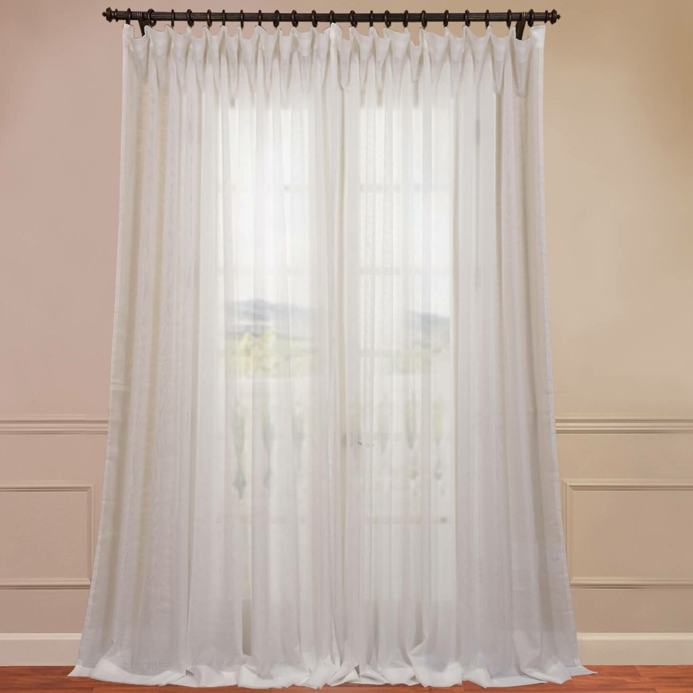 Curtains For Slider Doors White Sheer Curtain Panels