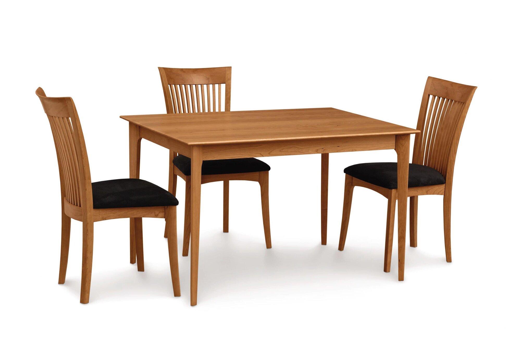 Copeland Furniture Sarah Dining Table Finish: Cognac Cherry, Size: 30