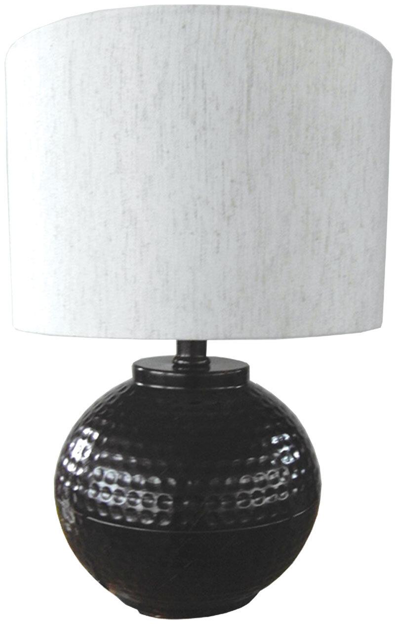 santa 039 s workshop hammered metal 18 034 h table lamp. Black Bedroom Furniture Sets. Home Design Ideas