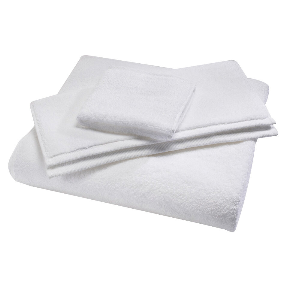 Home Source International Microcotton Luxury Bath Towel Color: White
