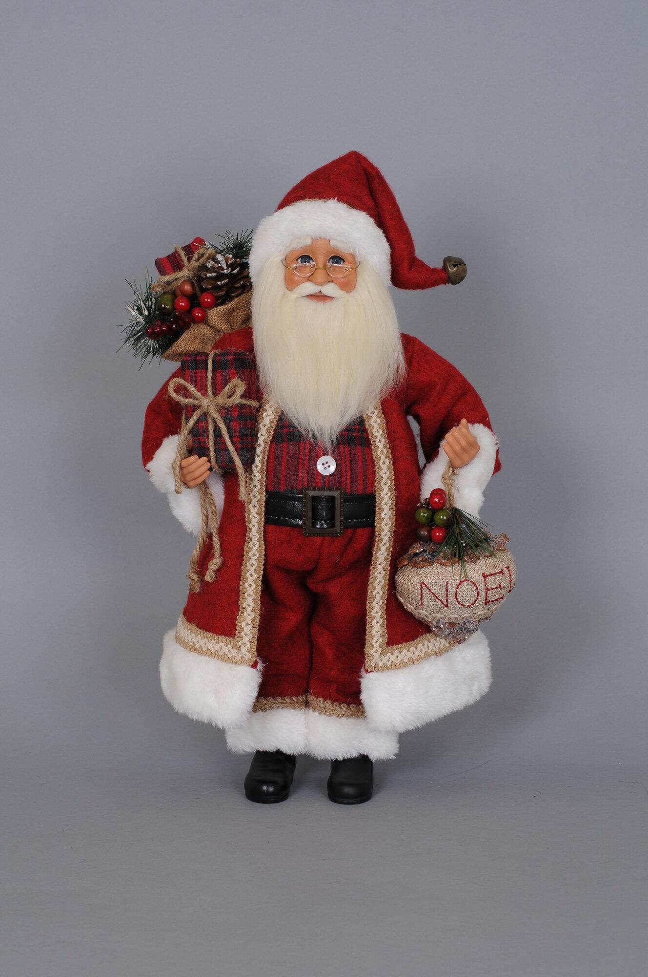 Karen didion originals christmas woodland noel santa
