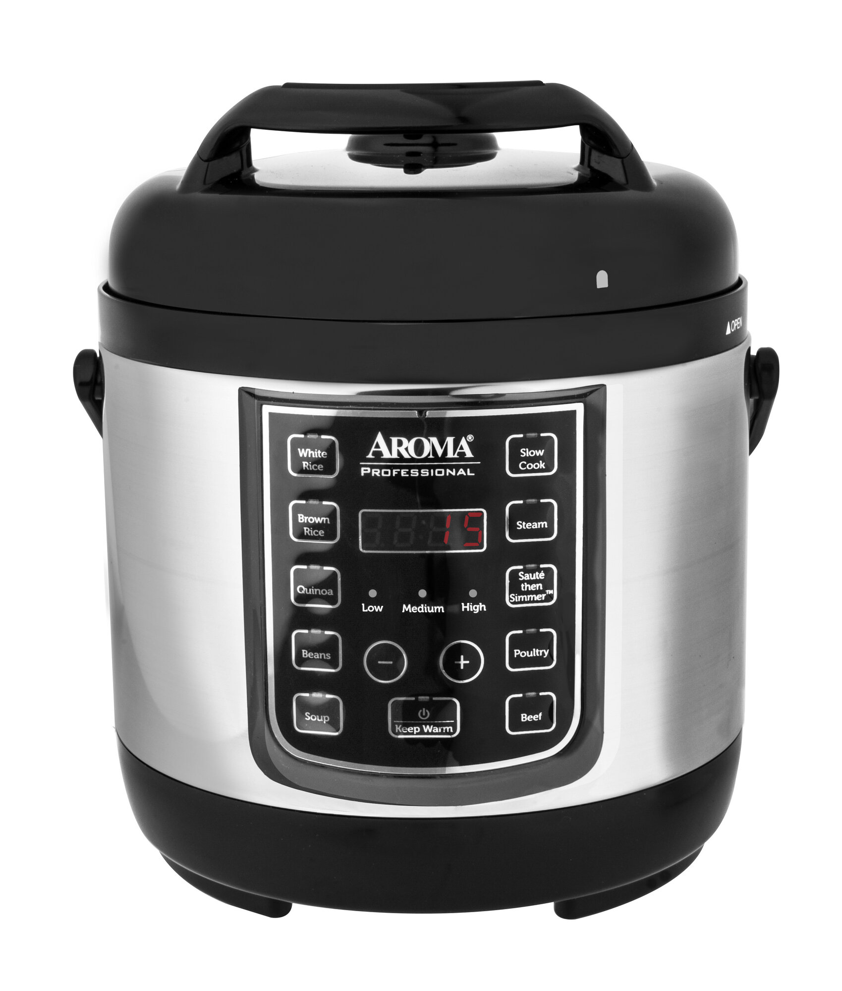 Power Cooker Digital Pressure Cooker ~ Aroma quart professional digital pressure cooker ebay