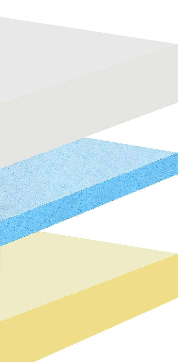 Furinno Angeland Healthy Sleep 10 Visco Elastic Luxury Gel Memory Foam Mattress Ebay