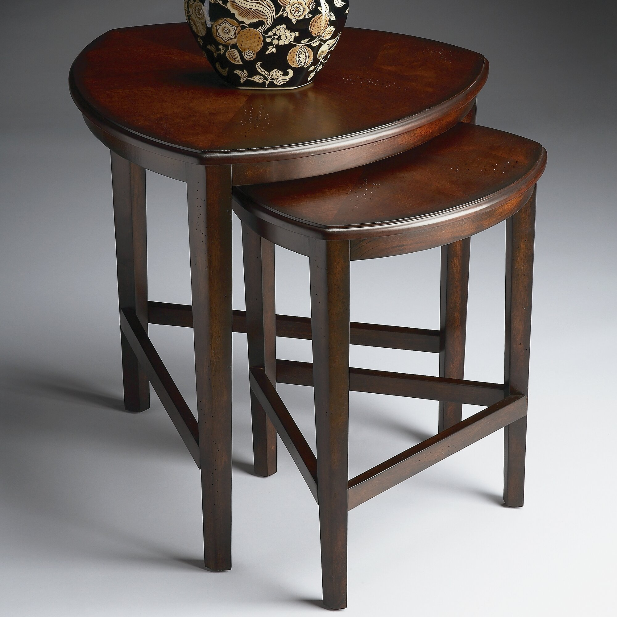Amazing photo of Details about Butler Finnegan 2 Piece Nesting Tables with #5E4232 color and 2000x2000 pixels
