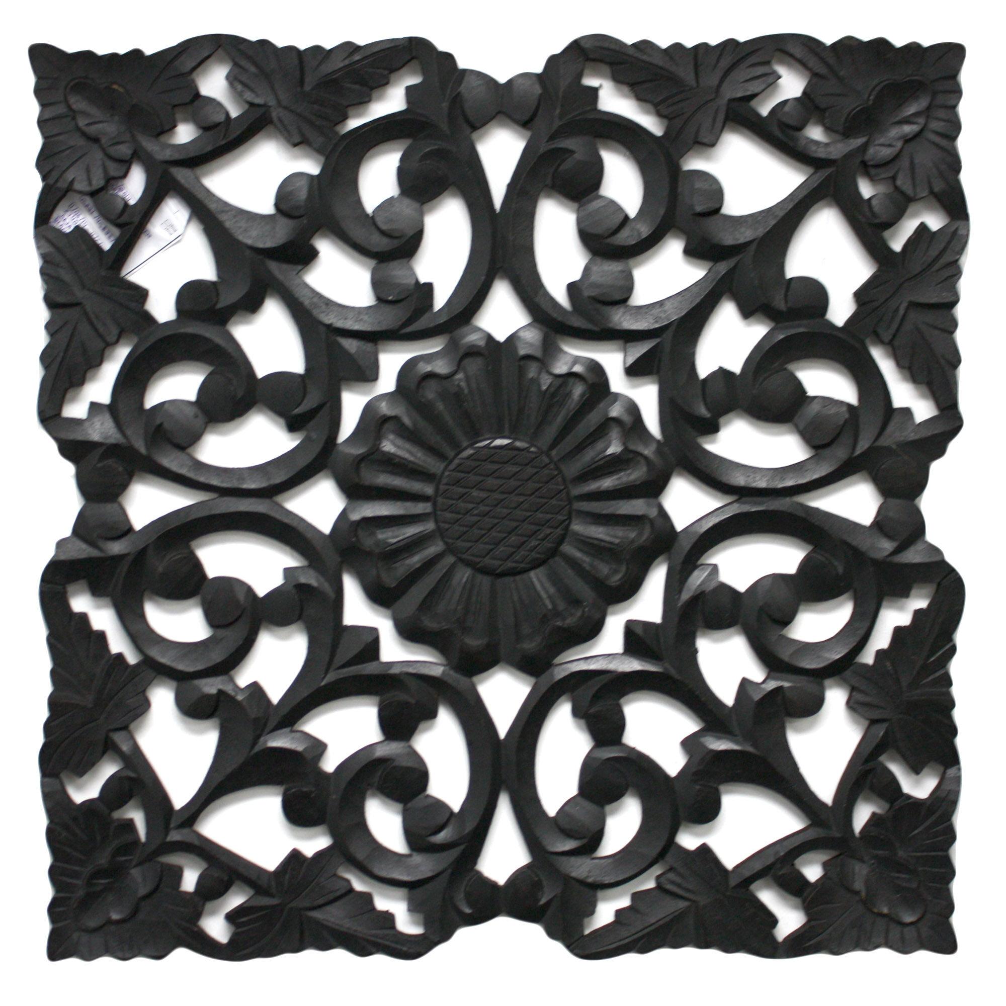 fetco home decor deja handcrafted medallion wall decor ebay. Black Bedroom Furniture Sets. Home Design Ideas