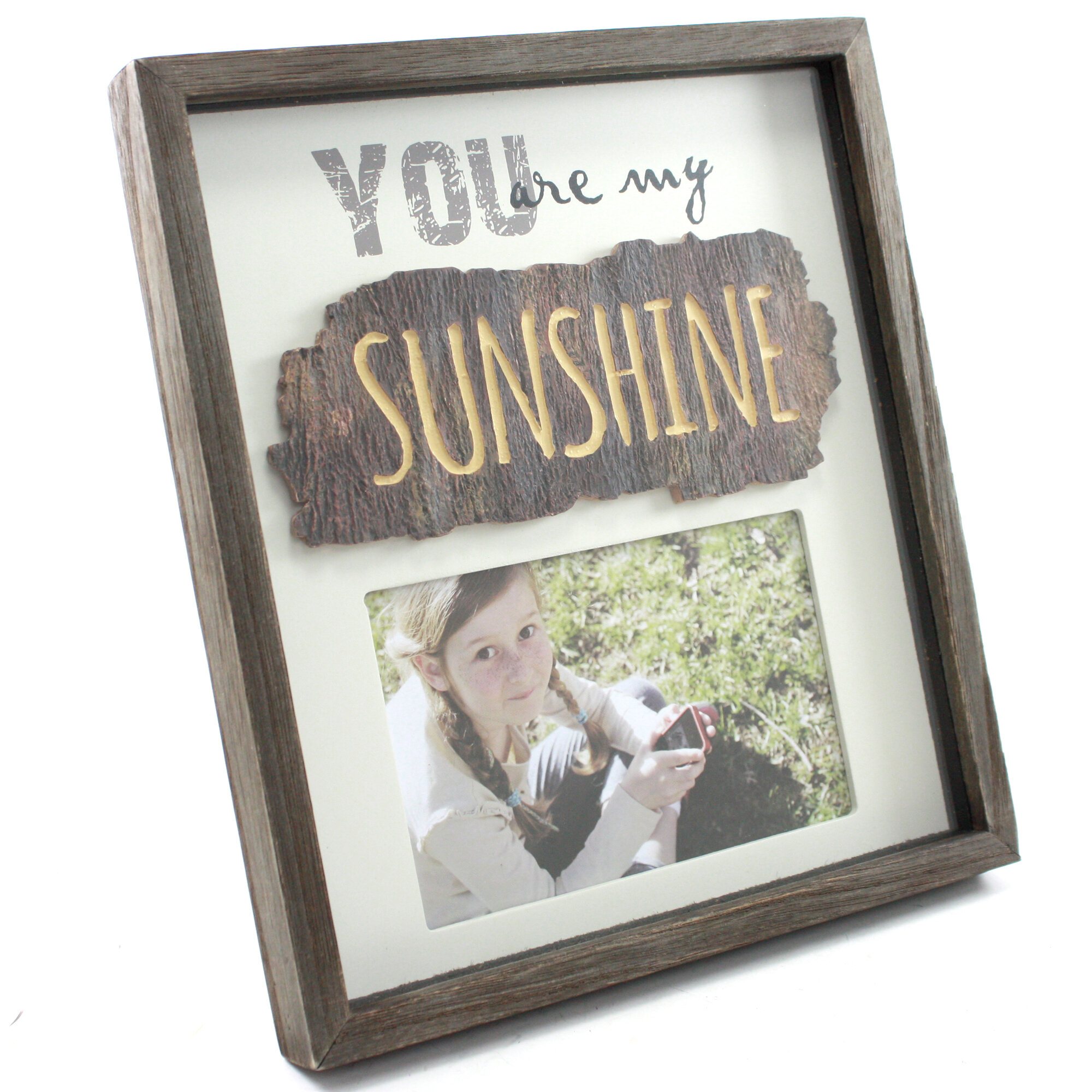 Fetco Home Decor Cleary You Are My Sunshine Picture Frame