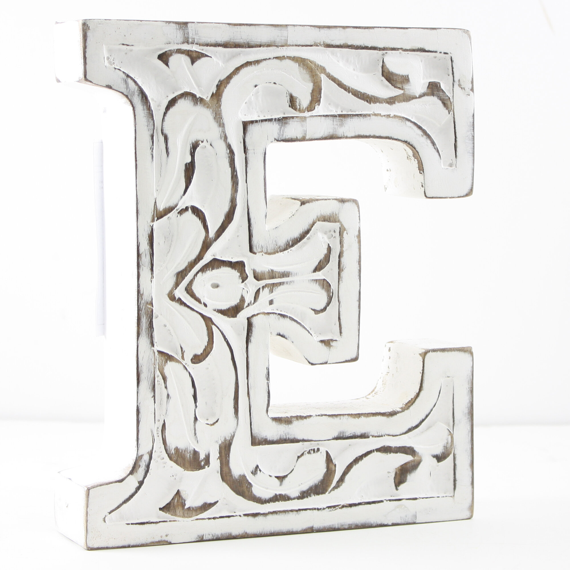 Fetco Home Decor Brinley Wall Art ~ Fetco home decor harel carved monogram wall décor ebay