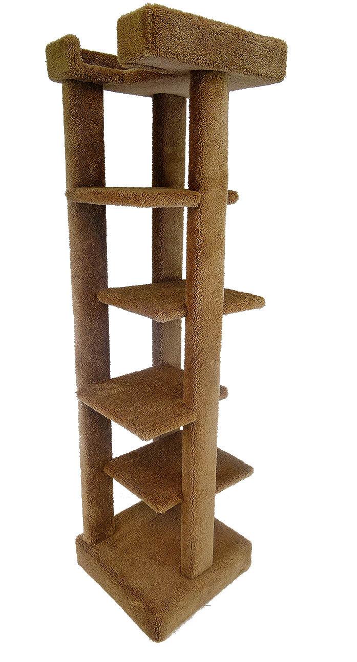 New Cat Condos Five Level 70 Quot Cat Tree Ebay
