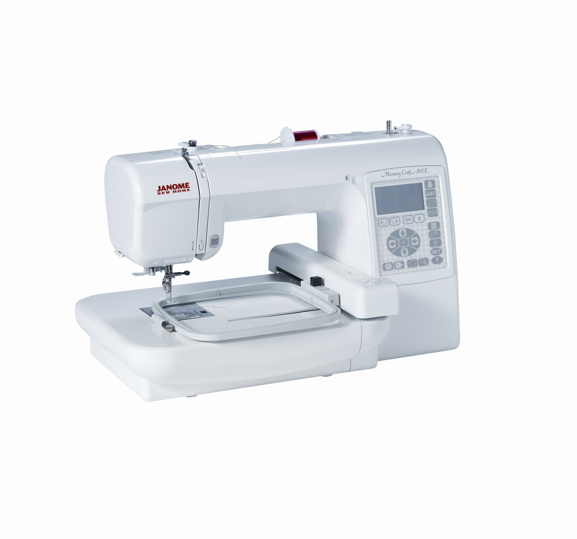 janome computerized memory craft embroidery machine. Black Bedroom Furniture Sets. Home Design Ideas
