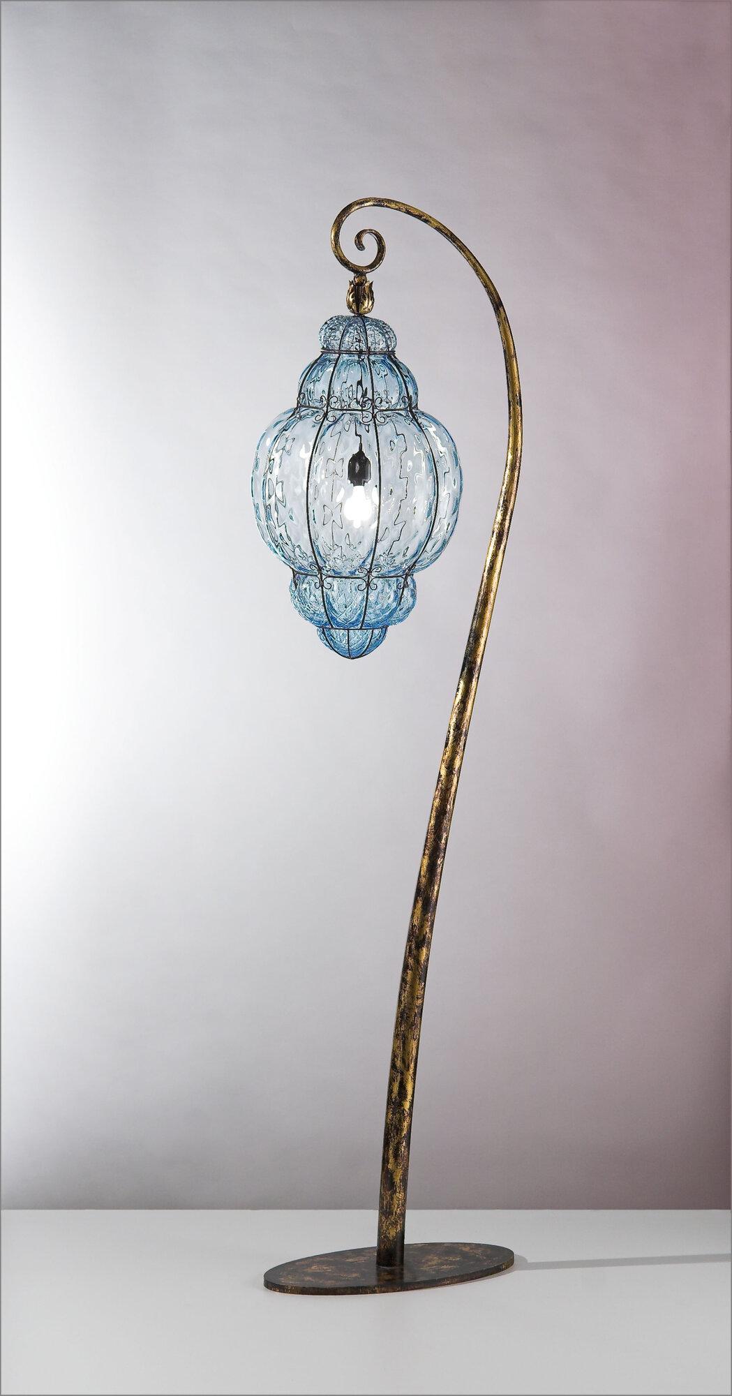 Siru-Vecchia-Murano-1-Light-Floor-Lamp