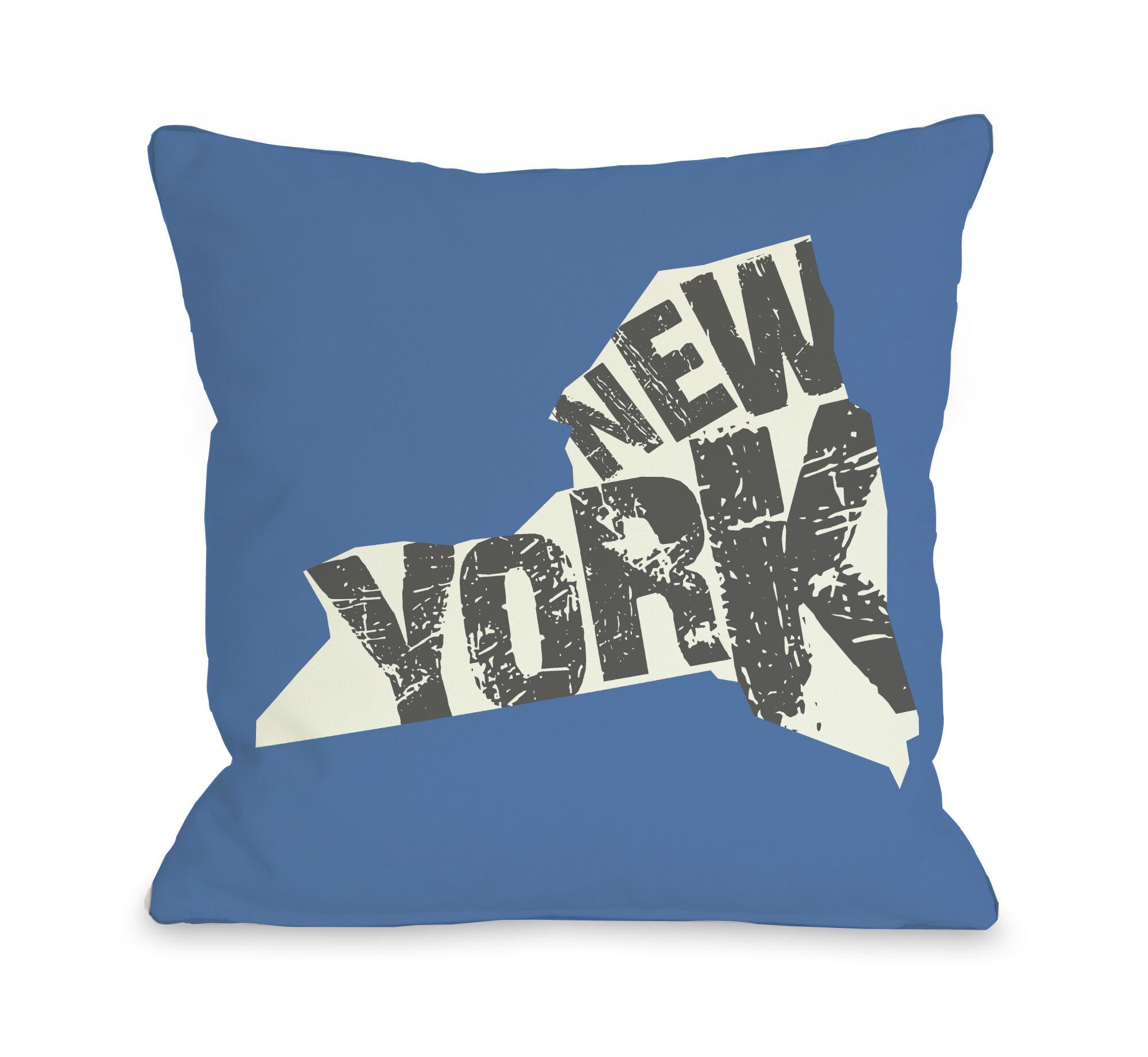 One Bella Casa New York State Silo Throw Pillow : eBay