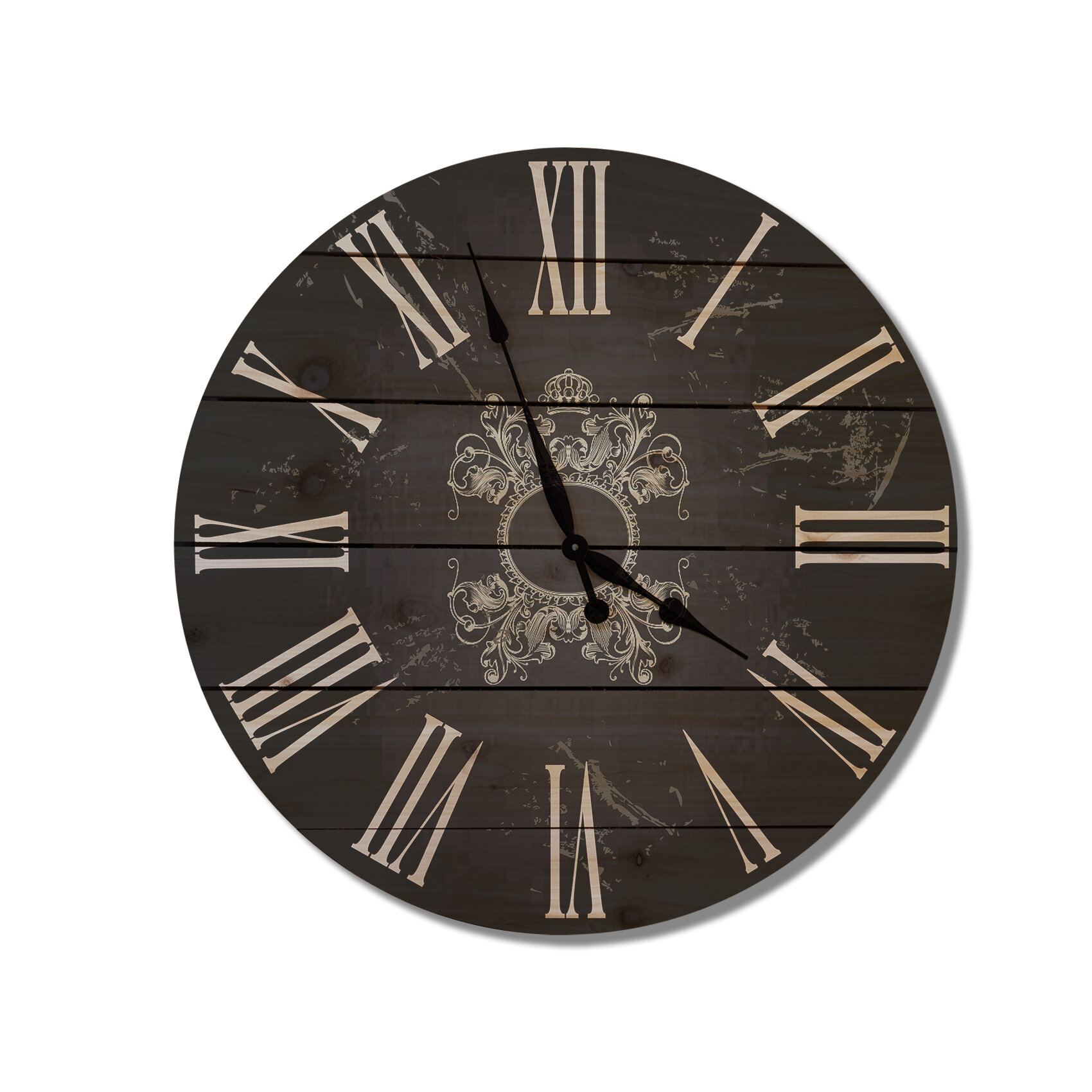 gizaun art french country 30 cedar wall clock