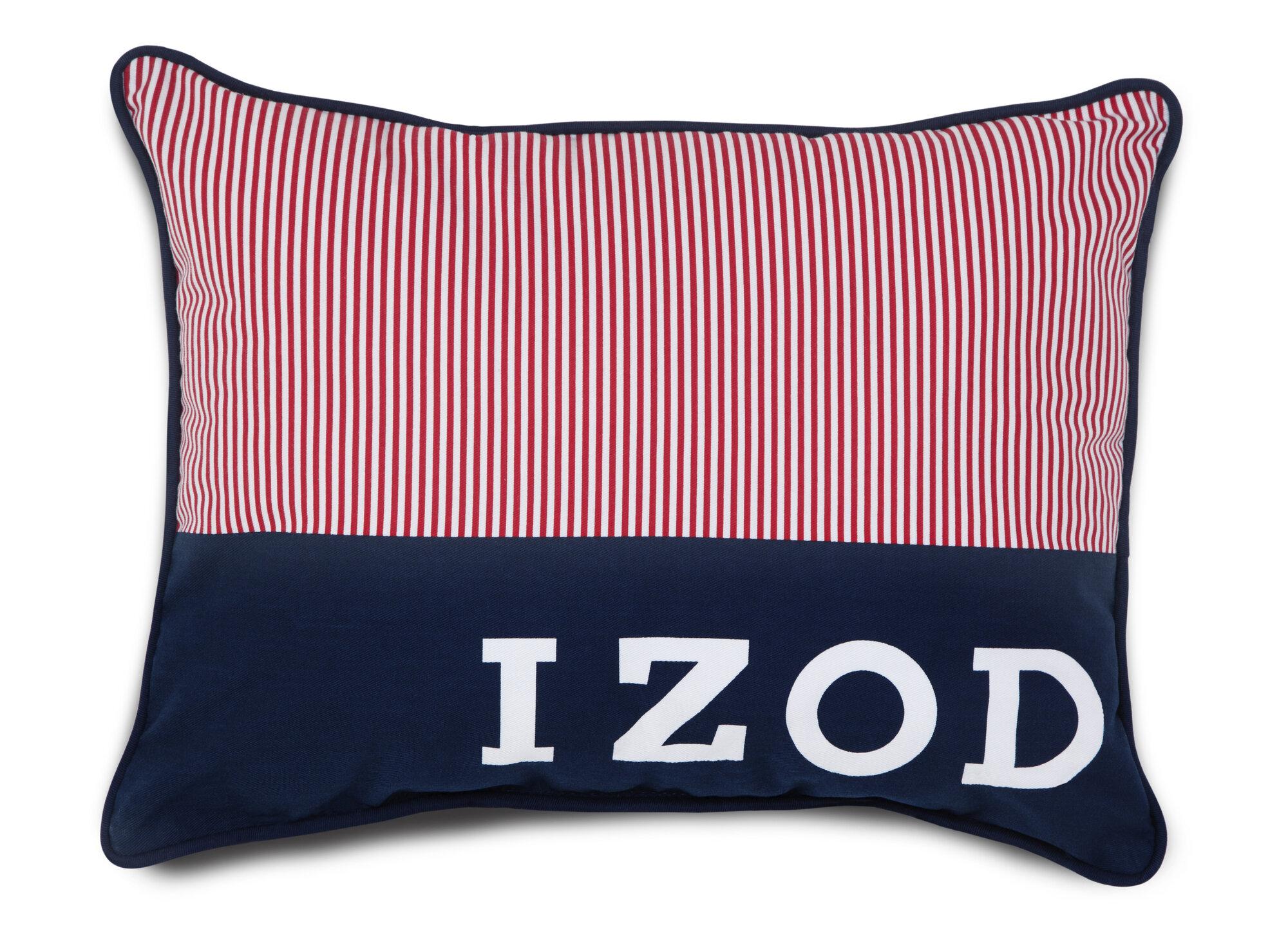 Izod Varsity Stripe Pinstripe Throw Pillow