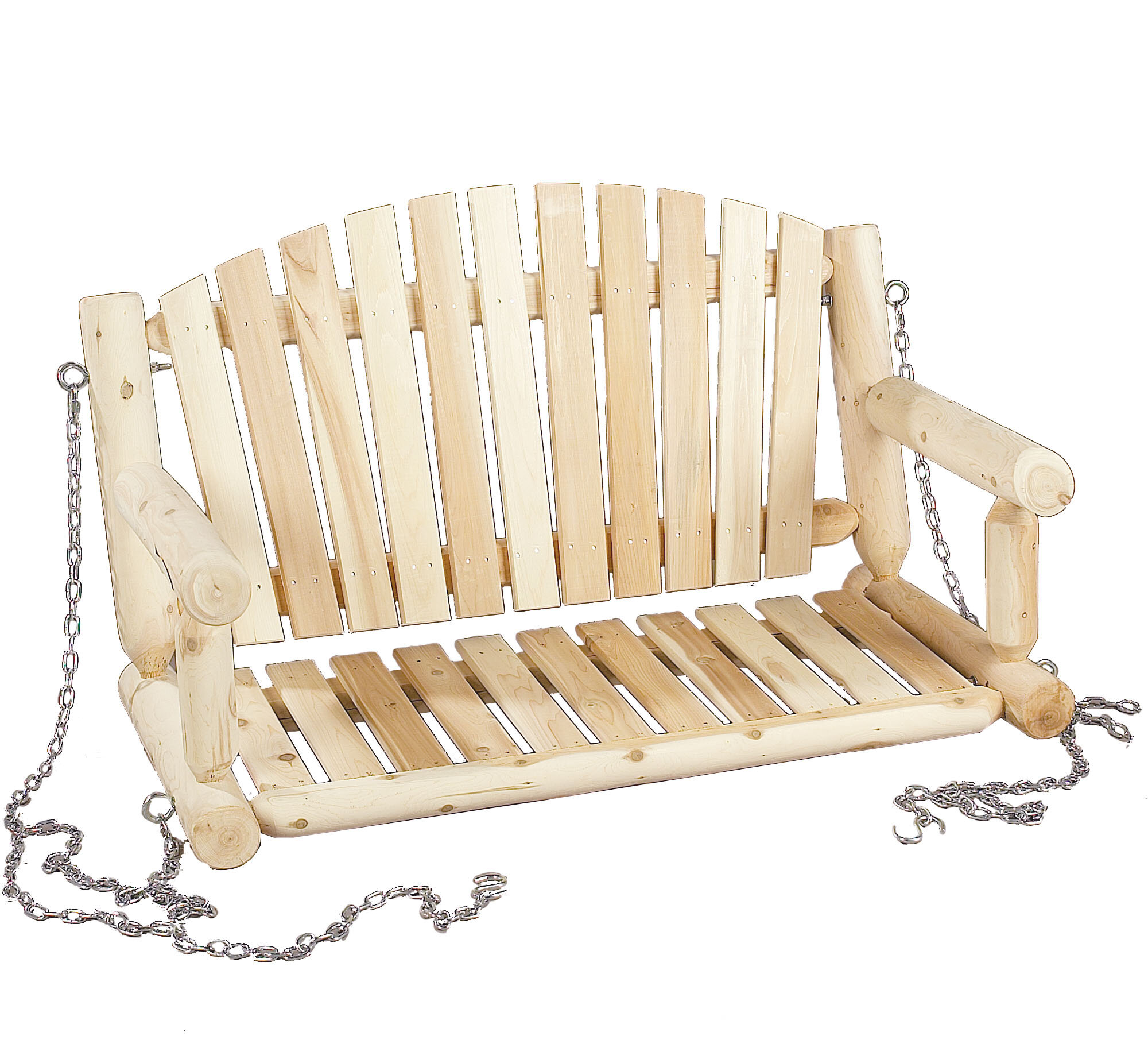 Porch swing plans deals on 1001 blocks for Log porch swing plans
