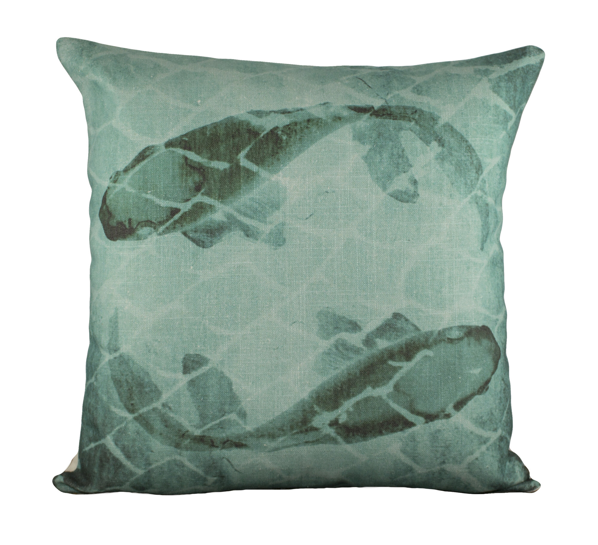 Thewatsonshop fish cotton throw pillow wtsn3137 ebay for Fish shaped pillow