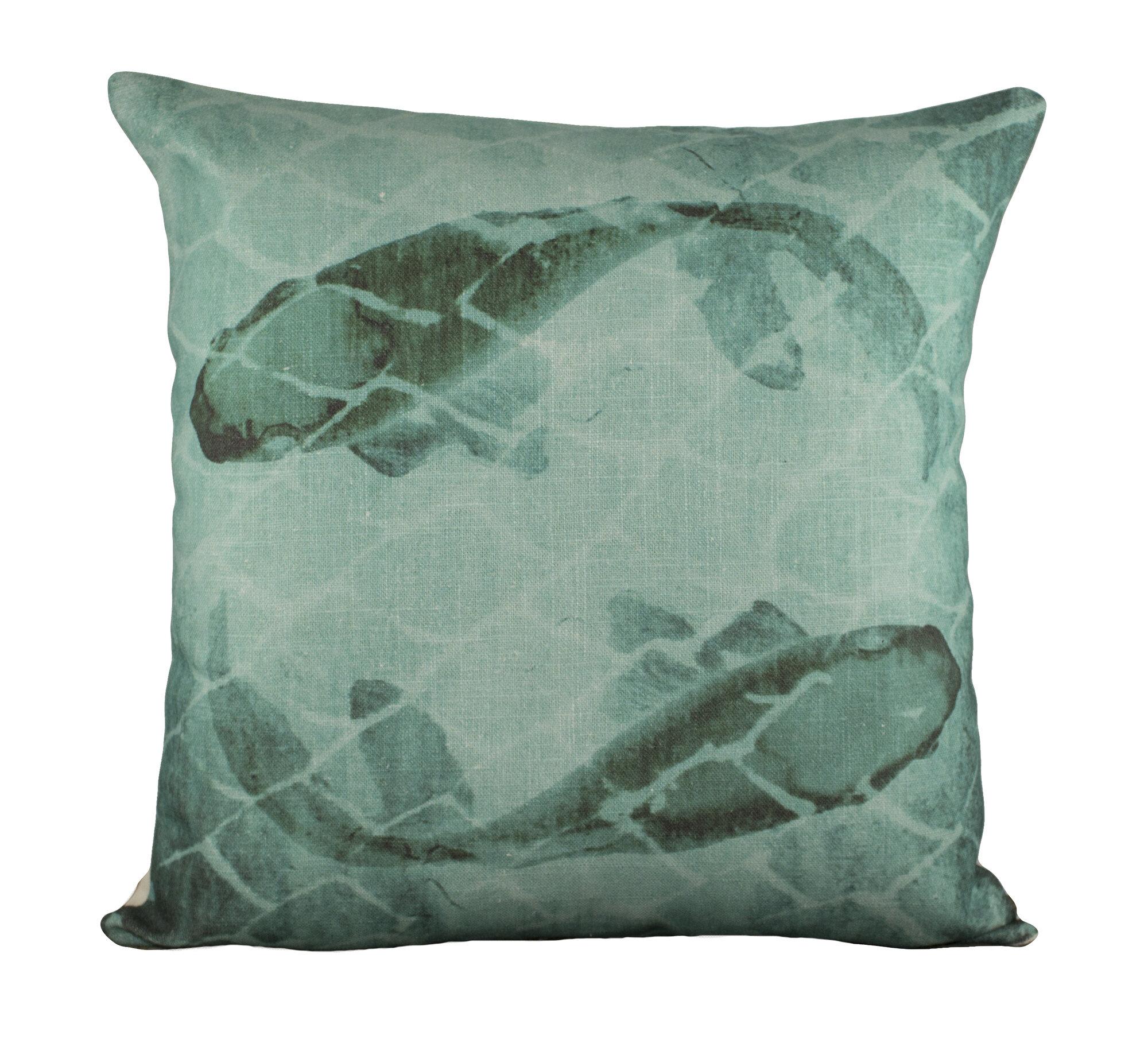 TheWatsonShop Fish Cotton Throw Pillow WTSN3137 eBay