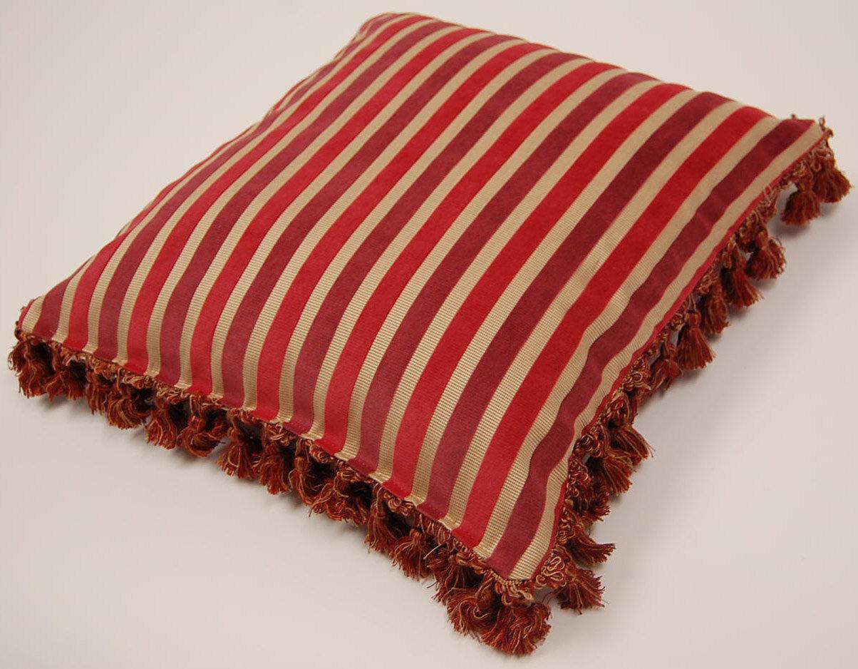 Dakotah Pillow Hillston Tassel Fringe Throw Pillow Set Of