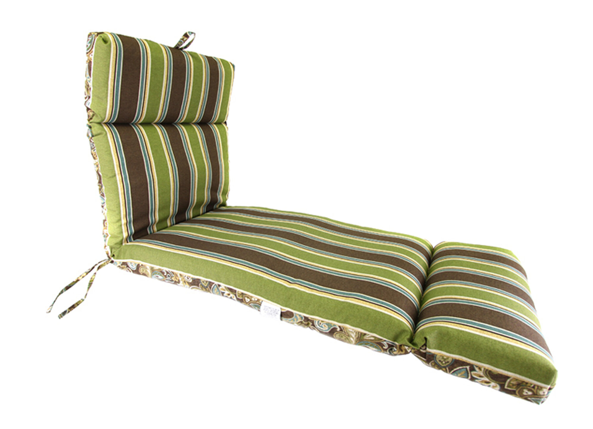 Chaise lounge reversible cushion ebay for Chaise longue cushion