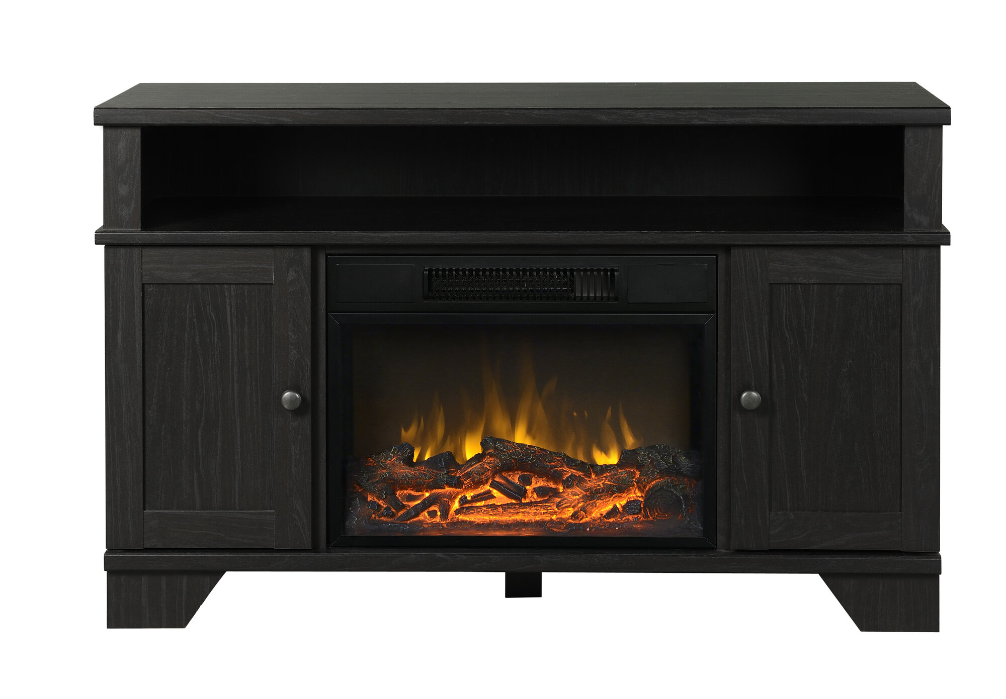 Homestar Hamilton 45 Quot Tv Stand With Electric Fireplace Ebay