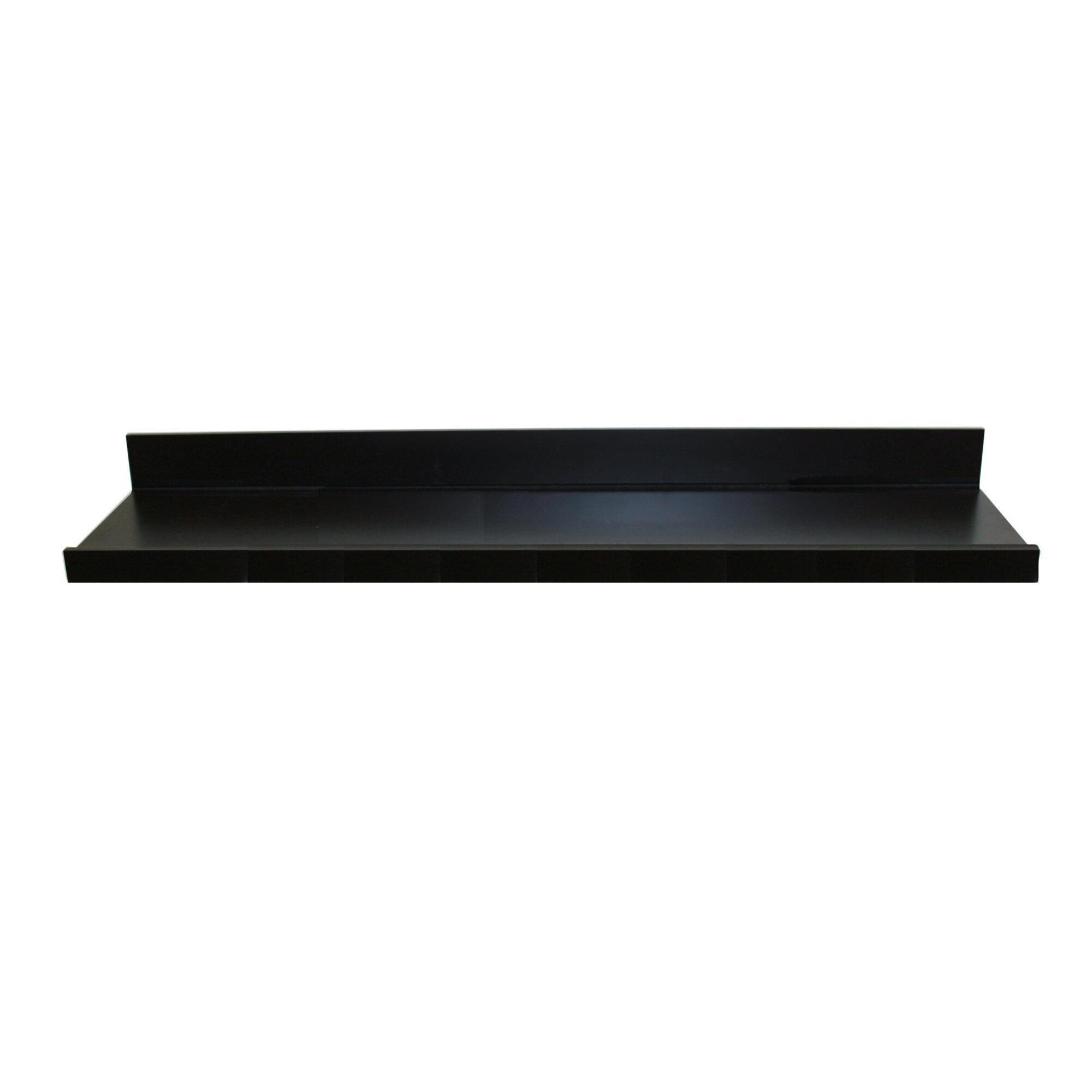 inplace shelving picture ledge floating wall shelf. Black Bedroom Furniture Sets. Home Design Ideas