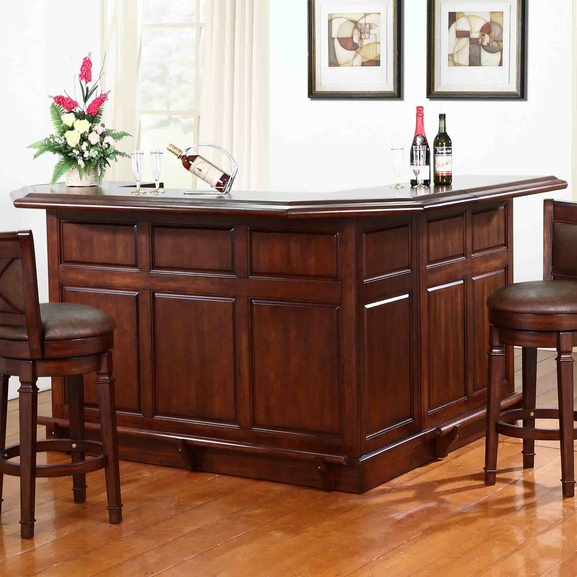 Eci furniture belvedere home bar ebay for Home bar furniture on ebay