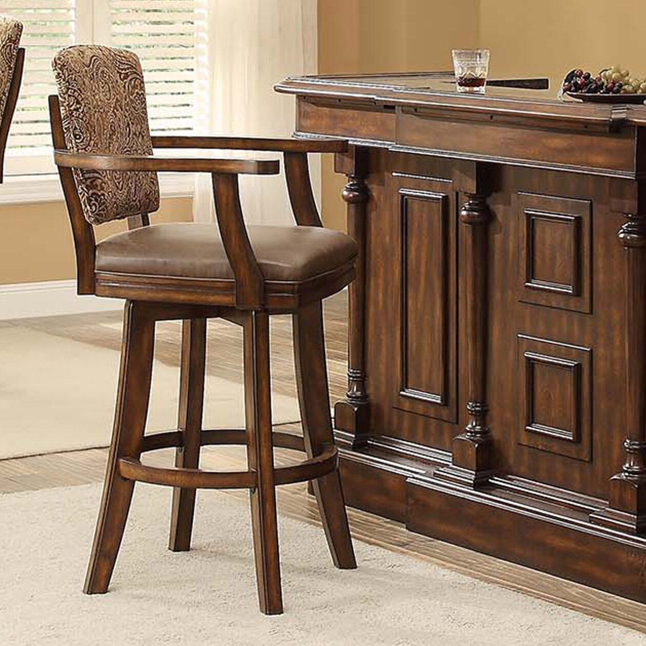 ECI Furniture Trafalgar 307quot Swivel Bar Stool eBay : 1 from www.ebay.com size 1259 x 1259 jpeg 398kB