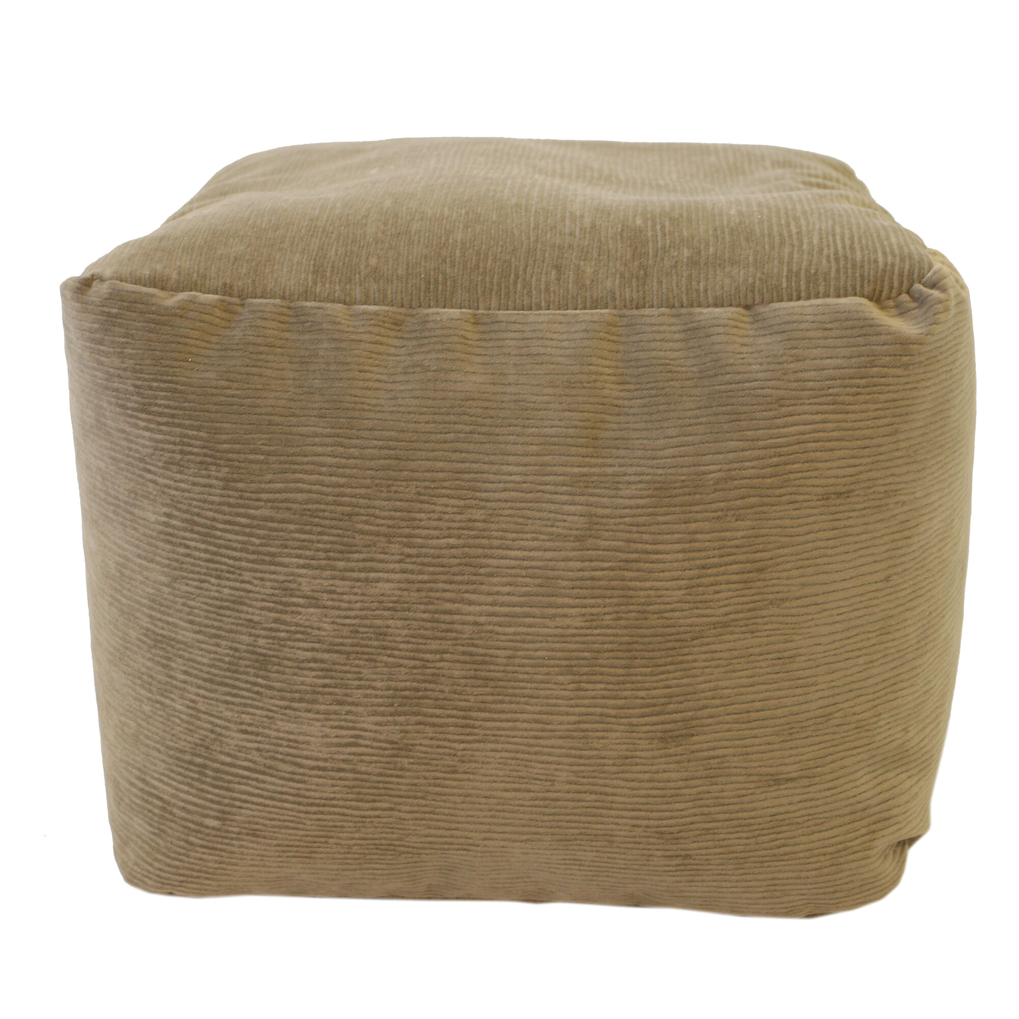 Gold Medal Bean Bags Medium Corduroy Ottoman Ebay