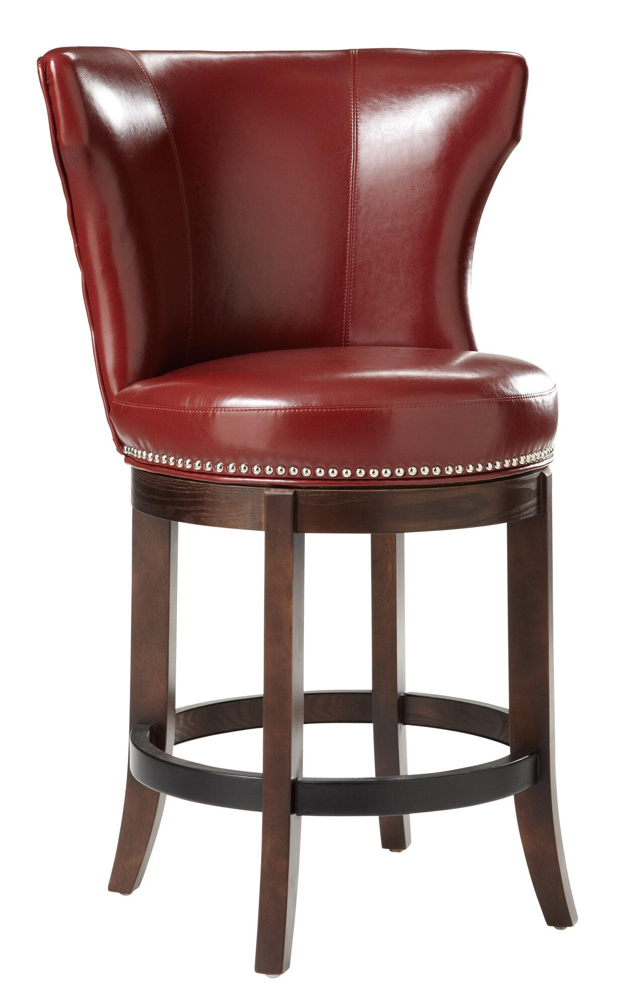 Sunpan Modern Tavern 26 Quot Swivel Bar Stool With Cushion Ebay