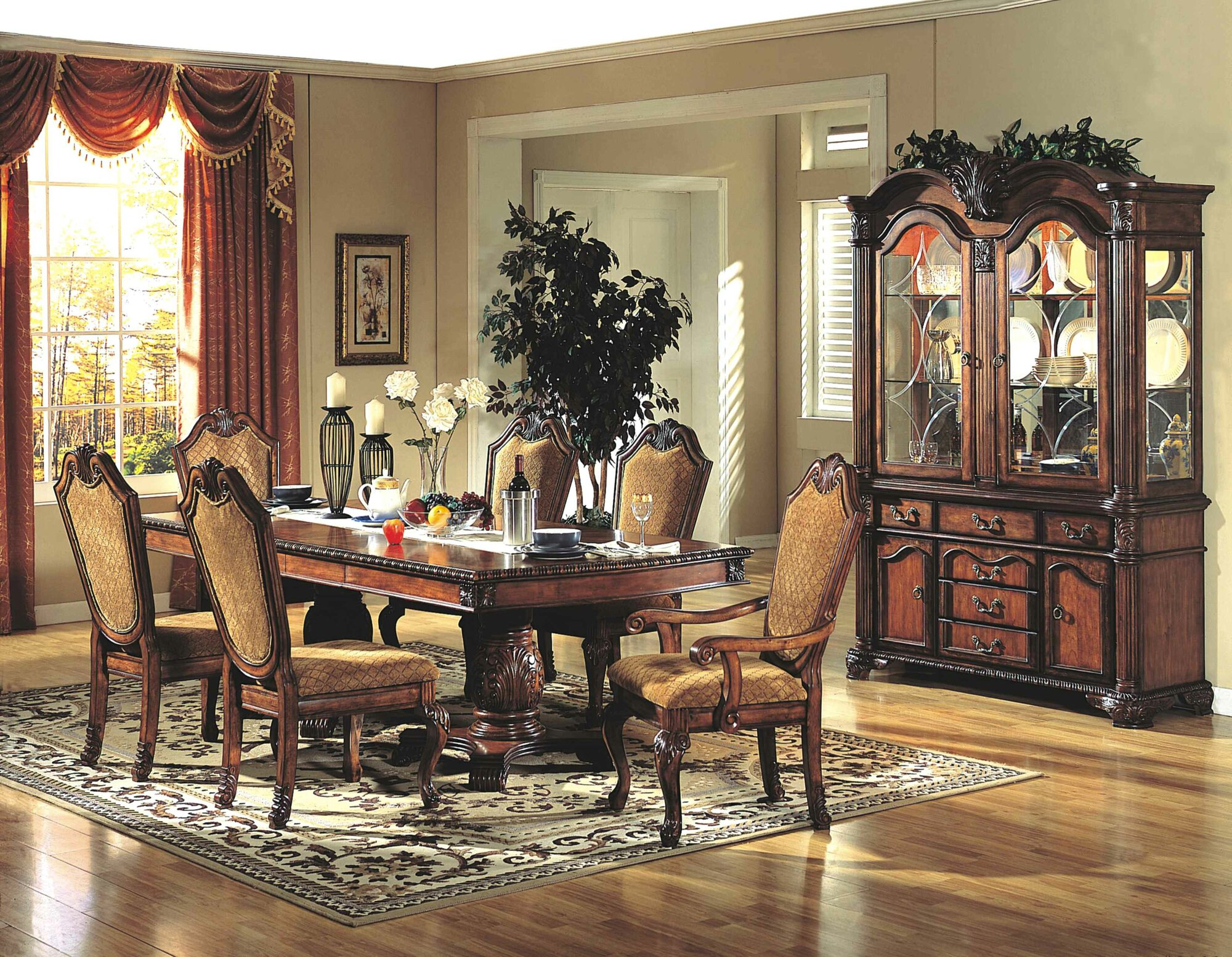 Ultimate Accents 7 Piece Dining Set Ult1423 Ebay