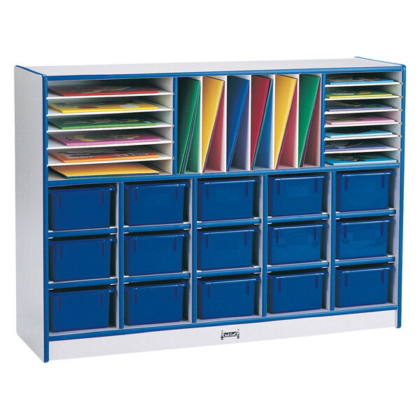 Rainbow-Accents-Sectional-Tray-Portable-35-Compartment-Cubby-  sc 1 st  eBay : sectional tray - Sectionals, Sofas & Couches