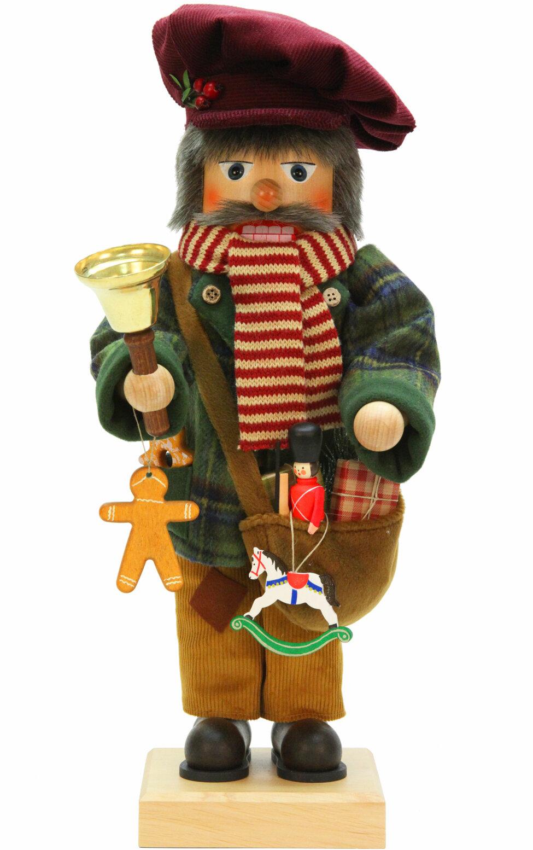 Alexander taron christian ulbricht toy salseman nutcracker for Floor nutcracker