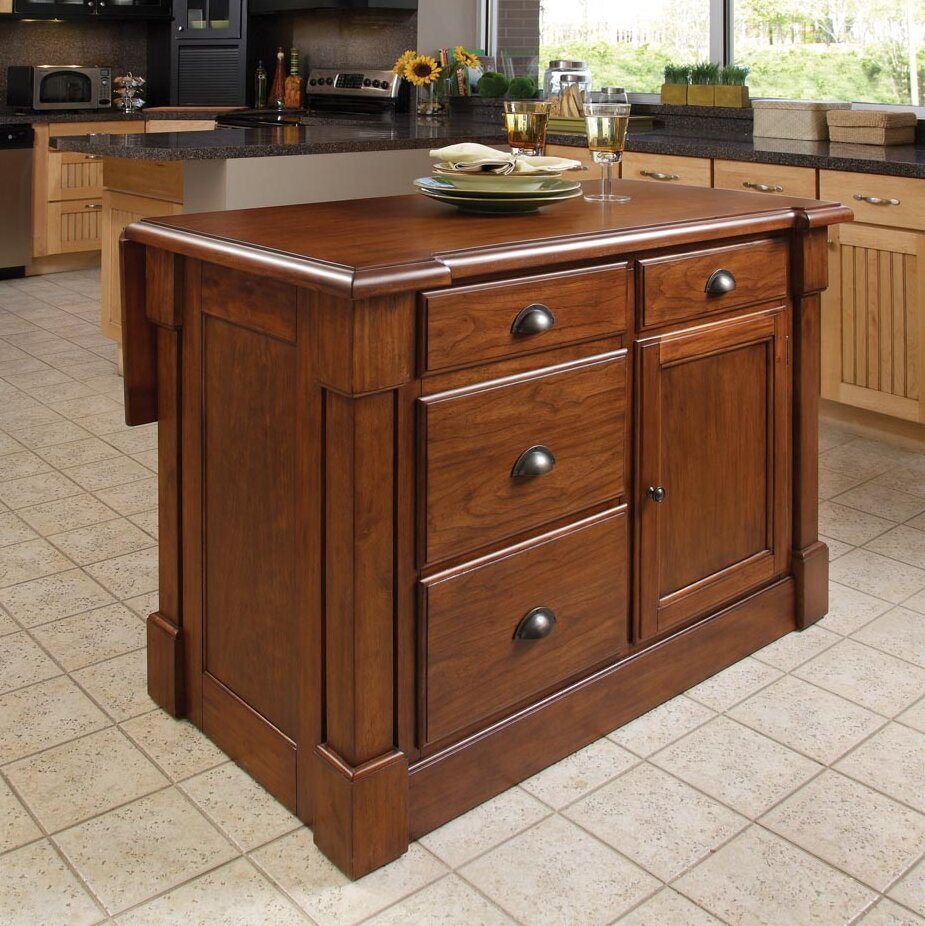 Home Styles Aspen Kitchen Island Ebay