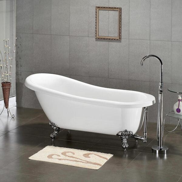 Cambridge Plumbing X 31 Claw Foot Slipper Soaking Bathtub