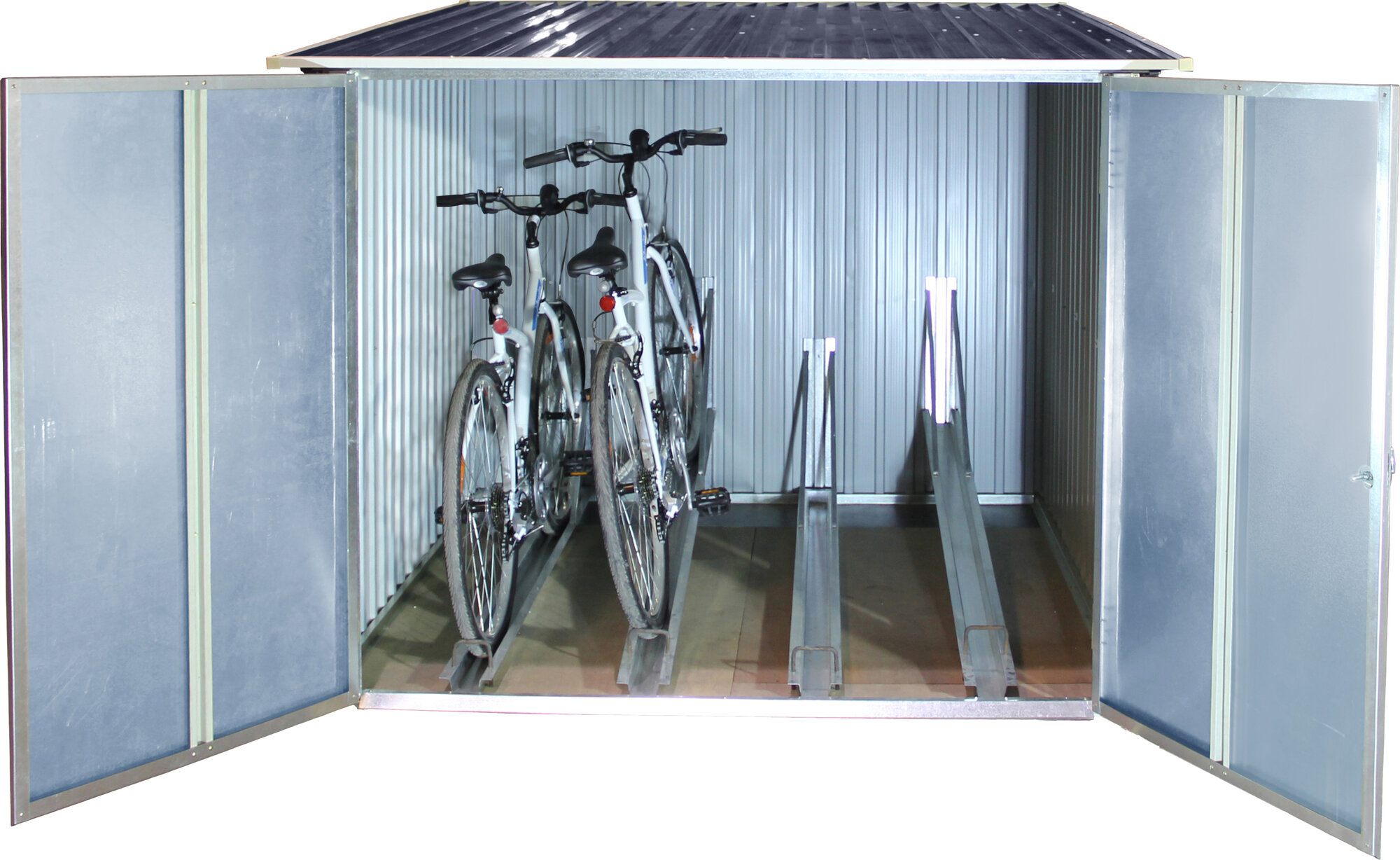 tepro 1 9 m x 1 9 m fahrradgarage ebay. Black Bedroom Furniture Sets. Home Design Ideas