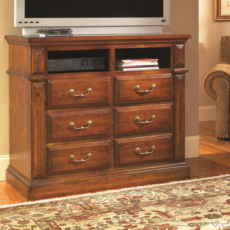 Progressive Furniture Inc Torreon 6 Drawer Media Chest Ebay