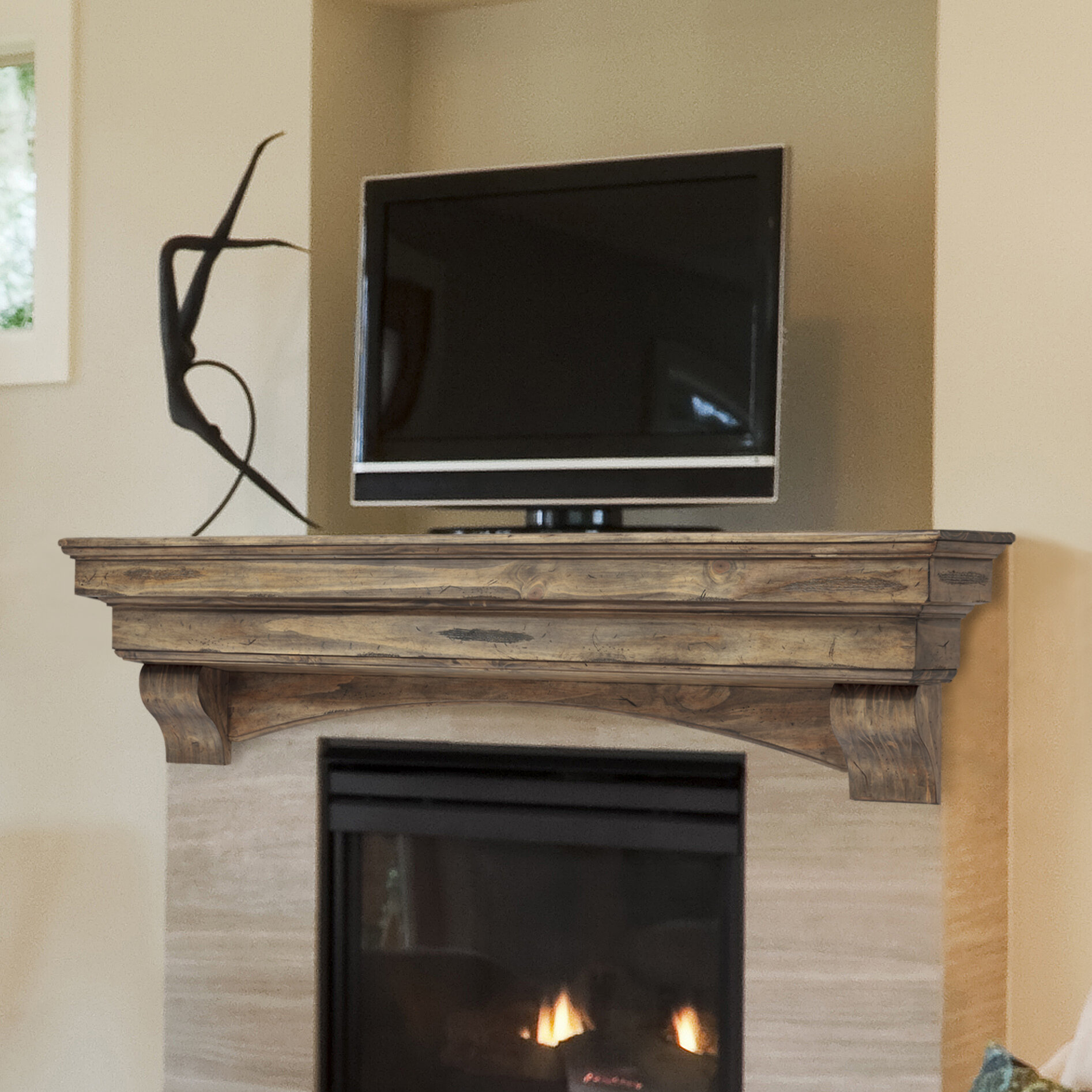pearl mantels celeste mantel shelf ebay. Black Bedroom Furniture Sets. Home Design Ideas
